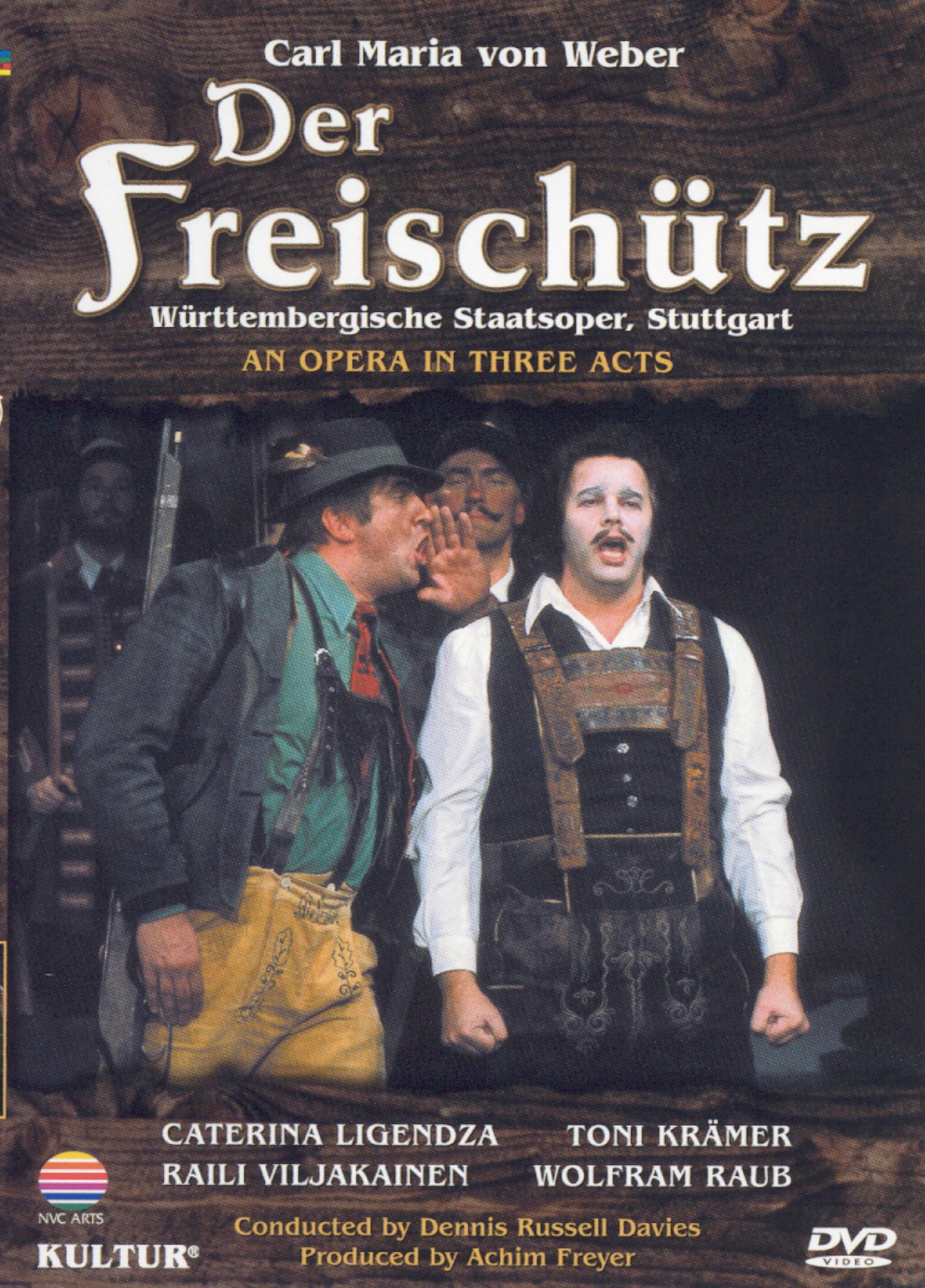 Der Freischutz (Wurttembergische Staatsoper, Stuttgart)