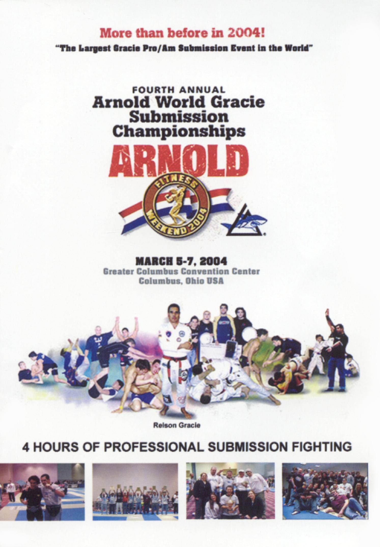 Arnold Gracie World Submission Championships 2004
