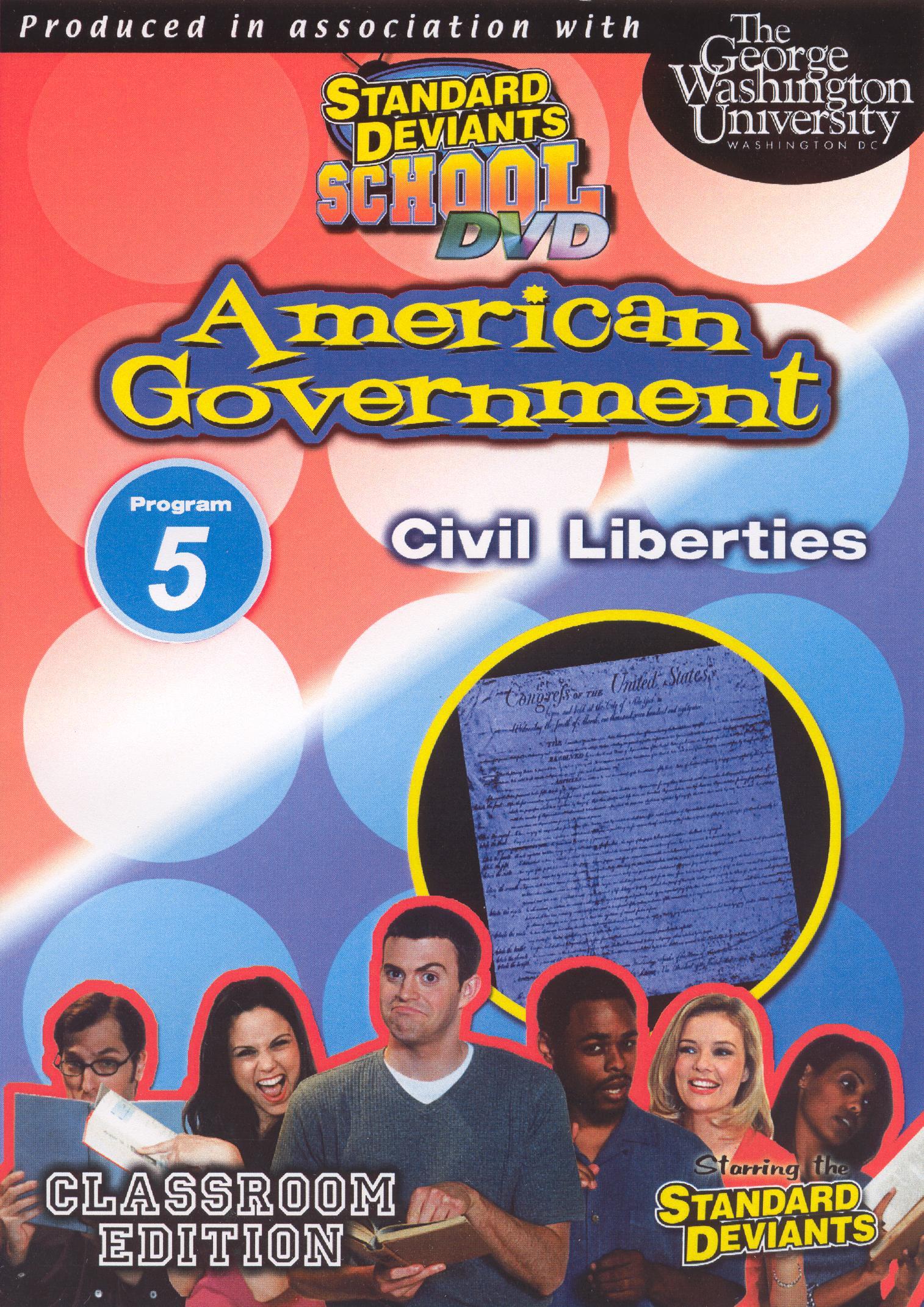 Standard Deviants School: American Government, Module 5 - Civil Liberties