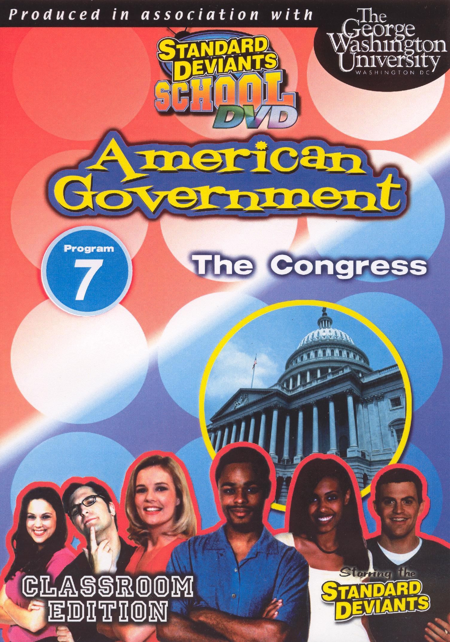 Standard Deviants School: American Government, Module 7 - The Congress