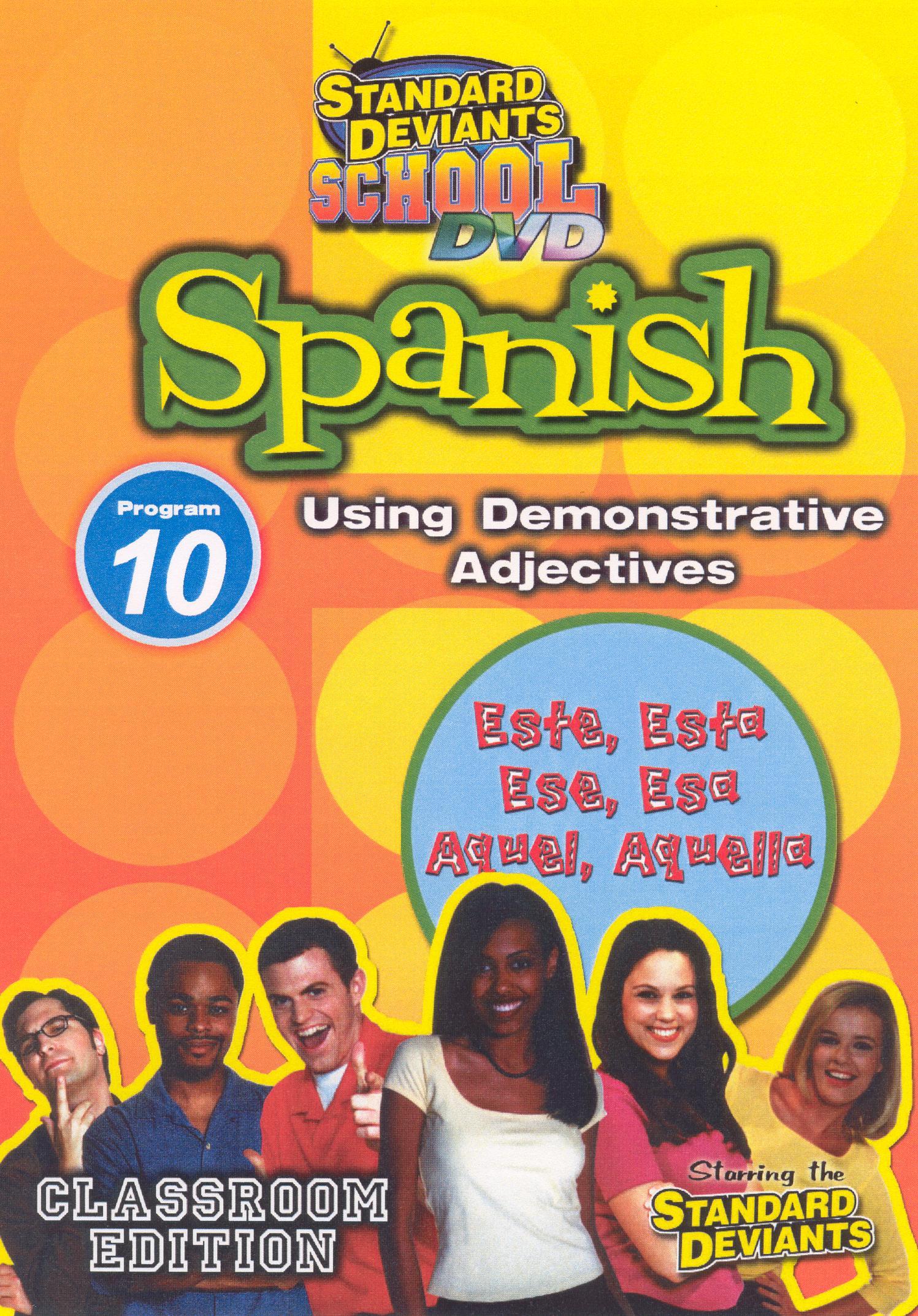 Standard Deviants School: Spanish, Program 10 - Using Demonstrative Adjectives