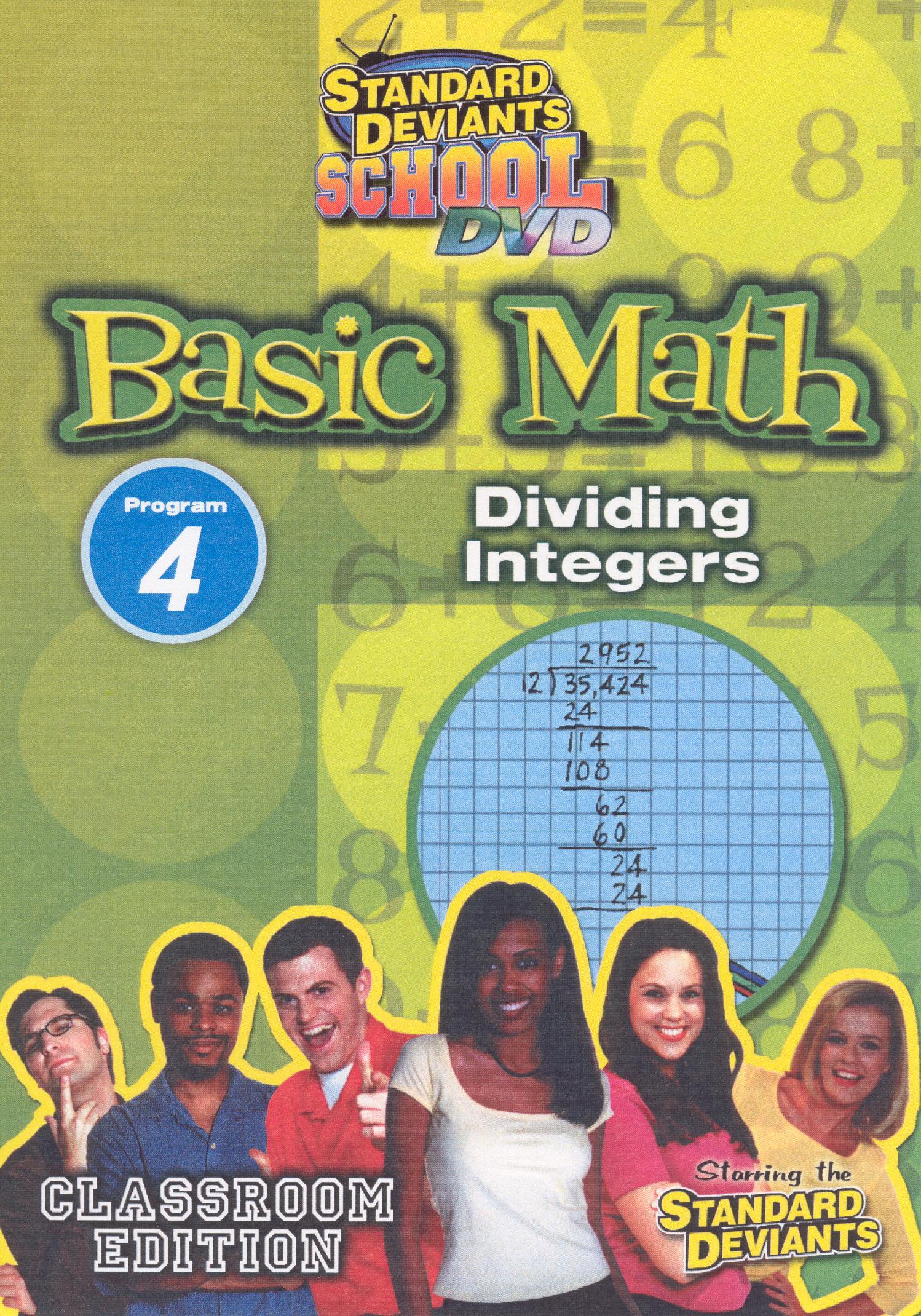 Standard Deviants School: Basic Math, Program 4