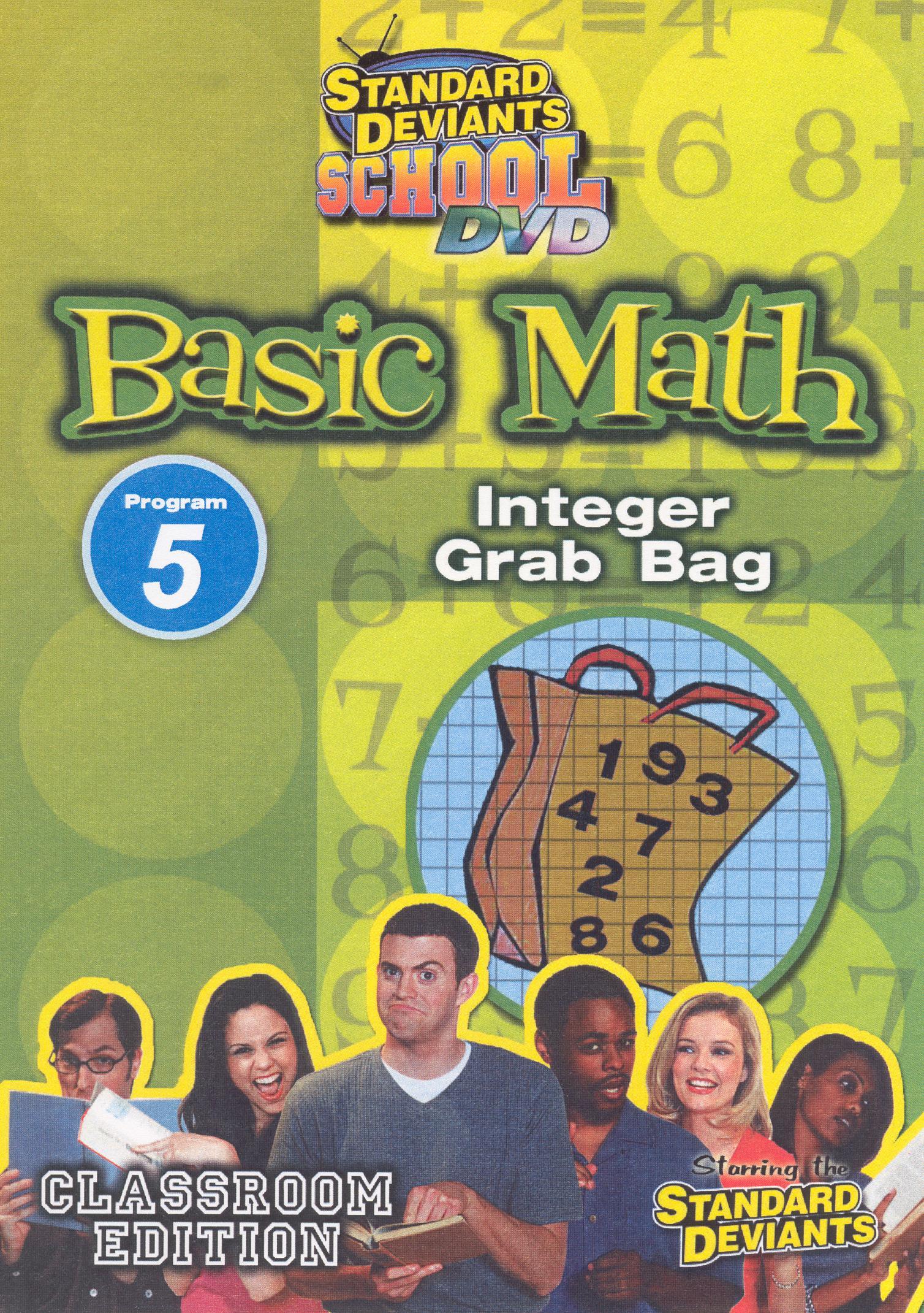 Standard Deviants School: Basic Math, Program 5