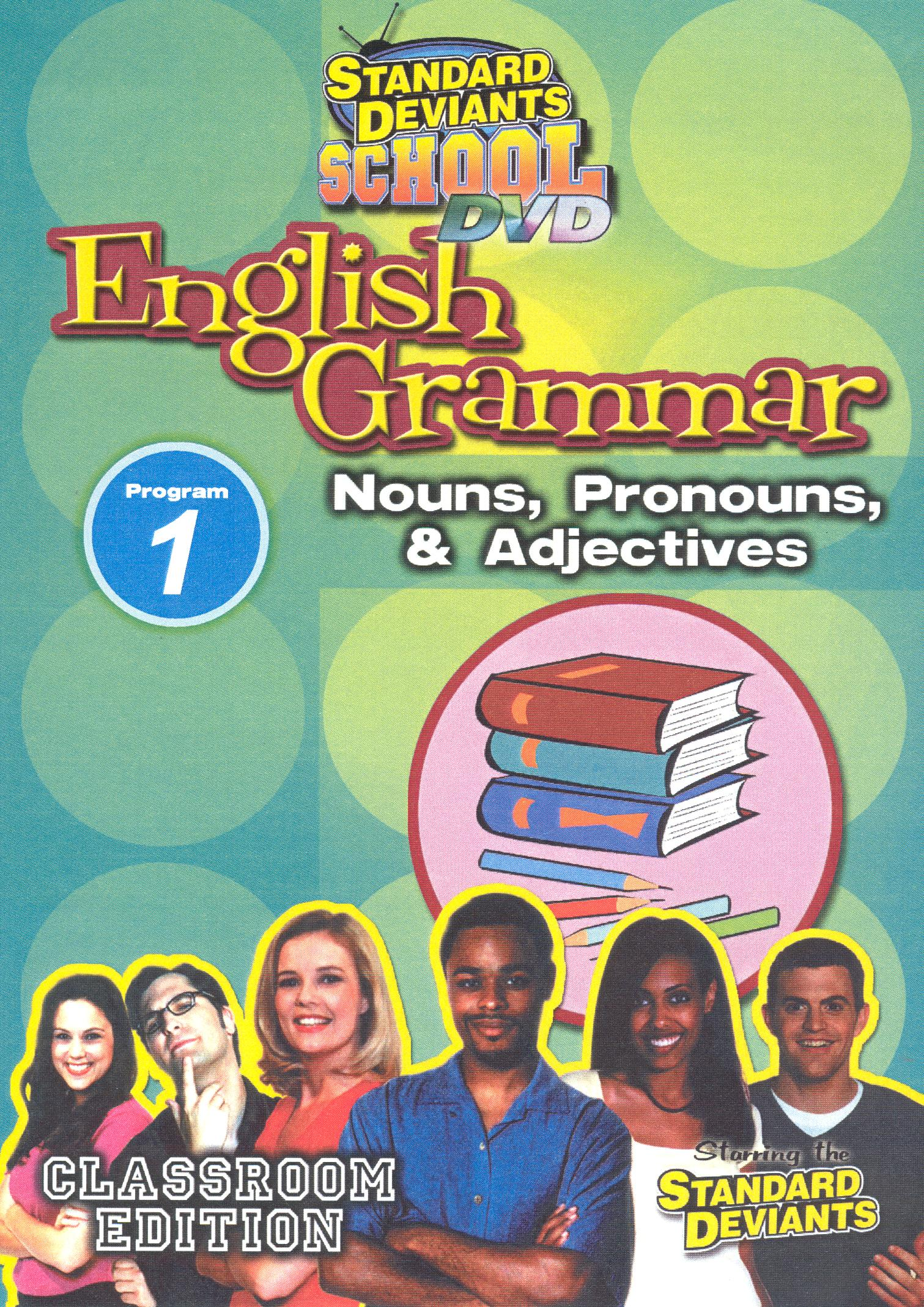 Standard Deviants School: English Grammar, Program 1