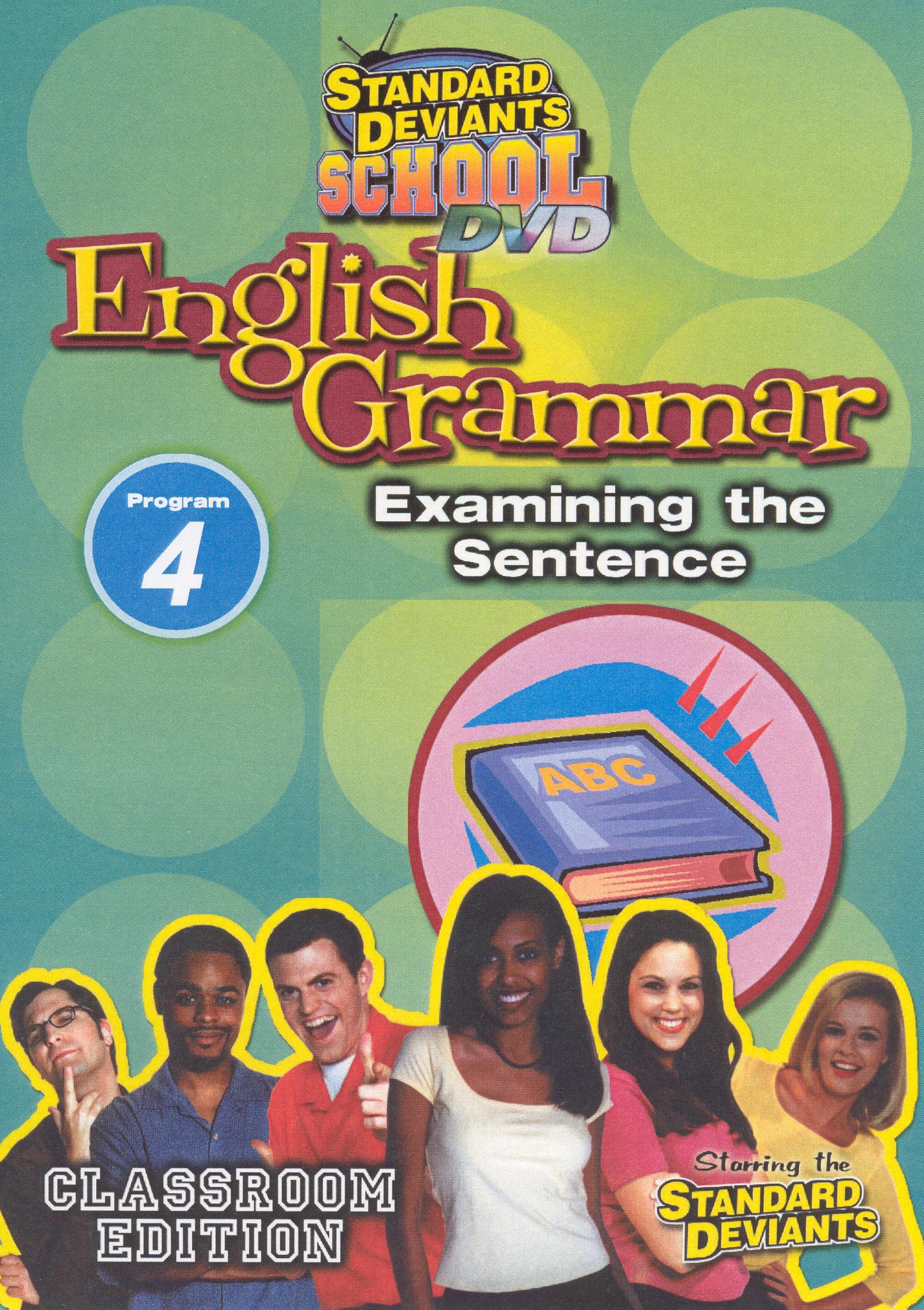 Standard Deviants School: English Grammar, Program 4