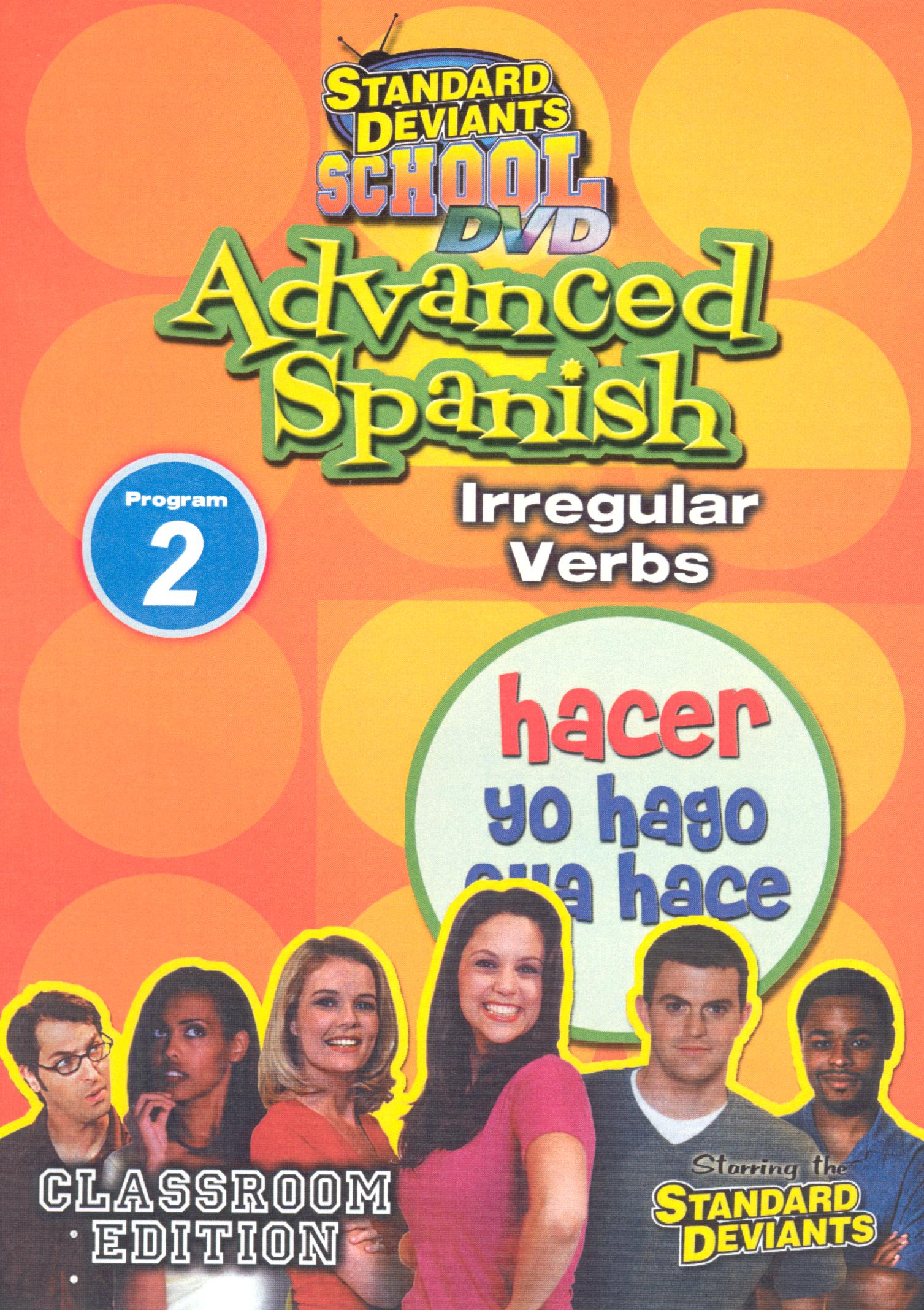 Standard Deviants School: Advanced Spanish, Program 2