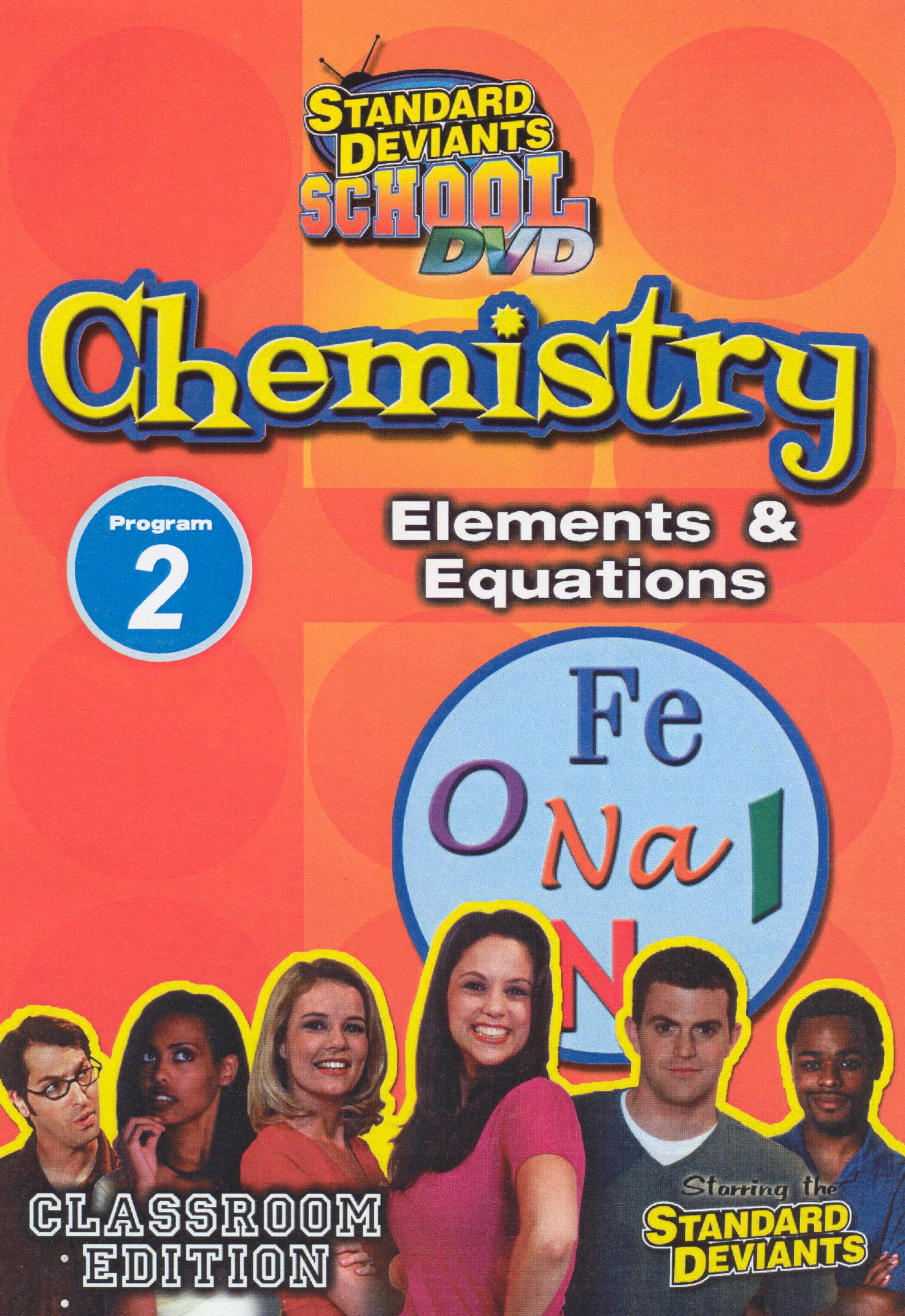 Standard Deviants School: Chemistry, Program 2