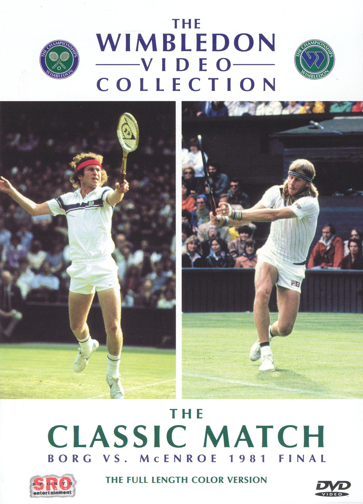 The Wimbledon Video Collection: The Classic Match - Borg vs. McEnroe 1981 Final