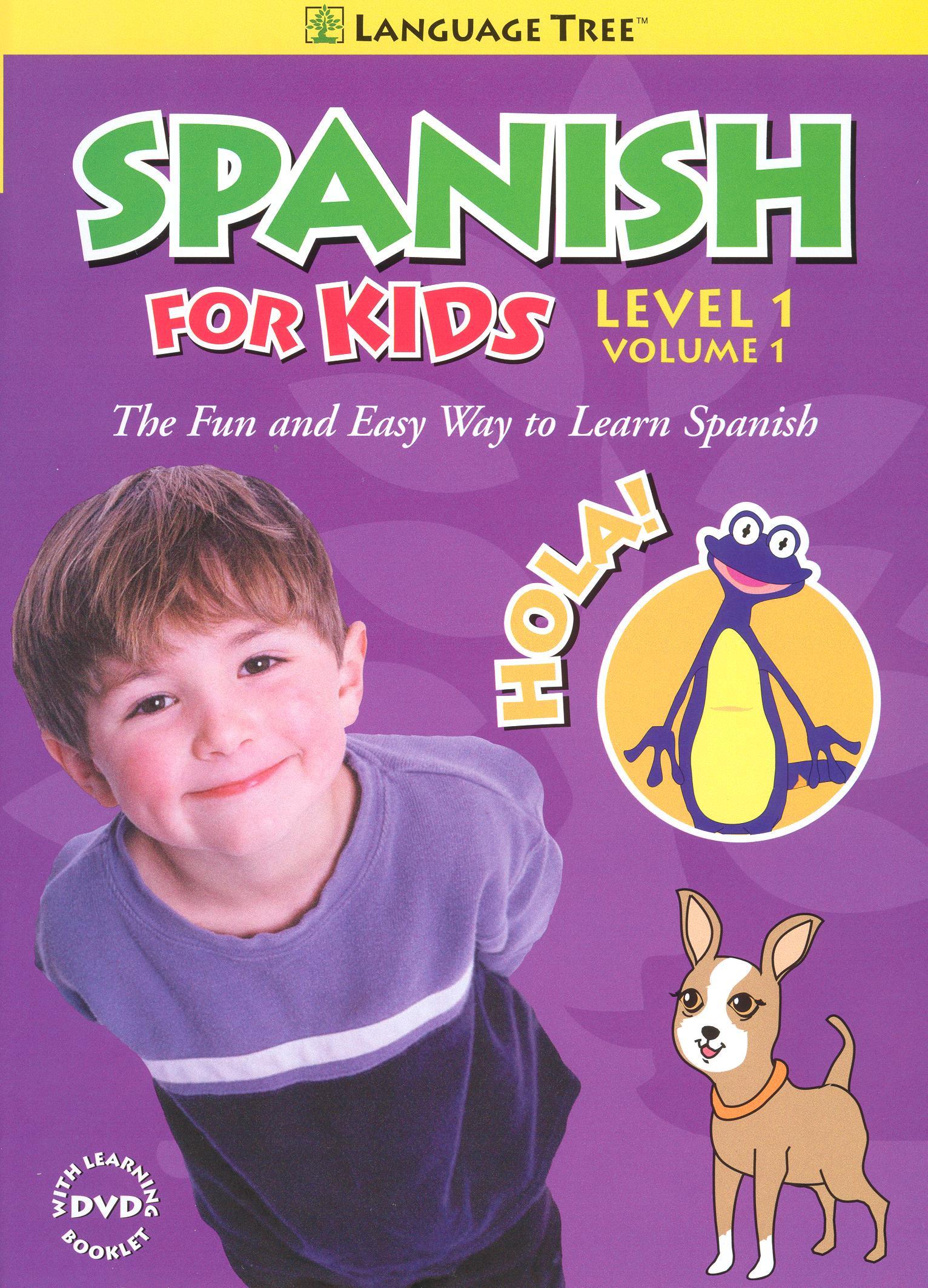 Spanish for Kids: Level 1, Vol. 1