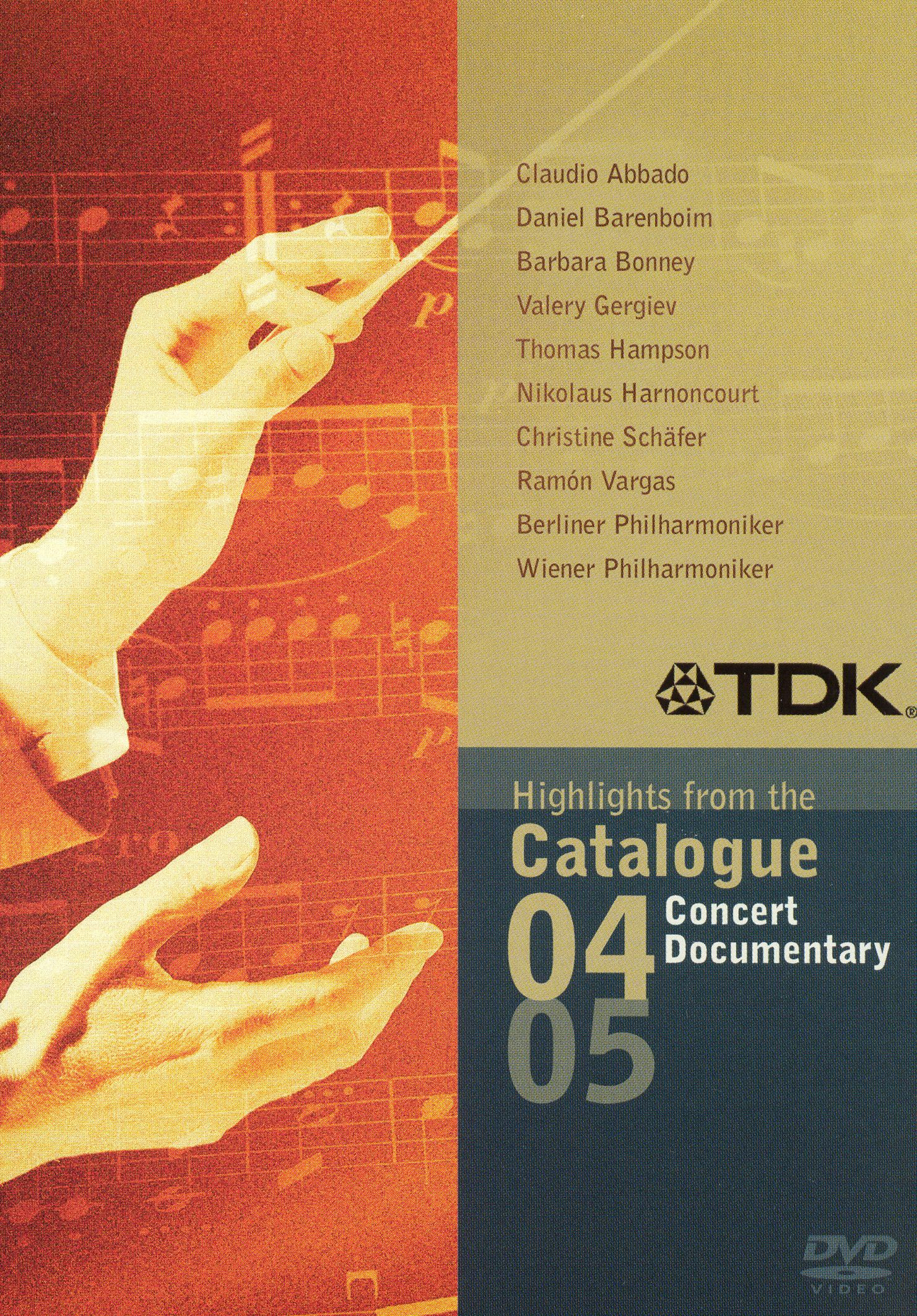 Highlights From the Catalogue 04/05: Concert & Documentary