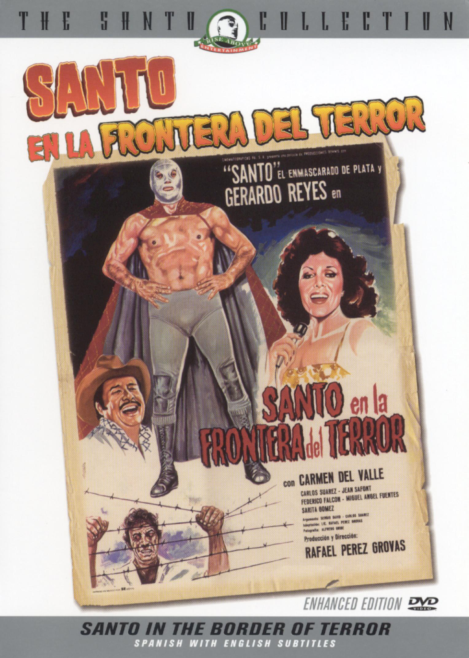 Santo in the Border of Terror