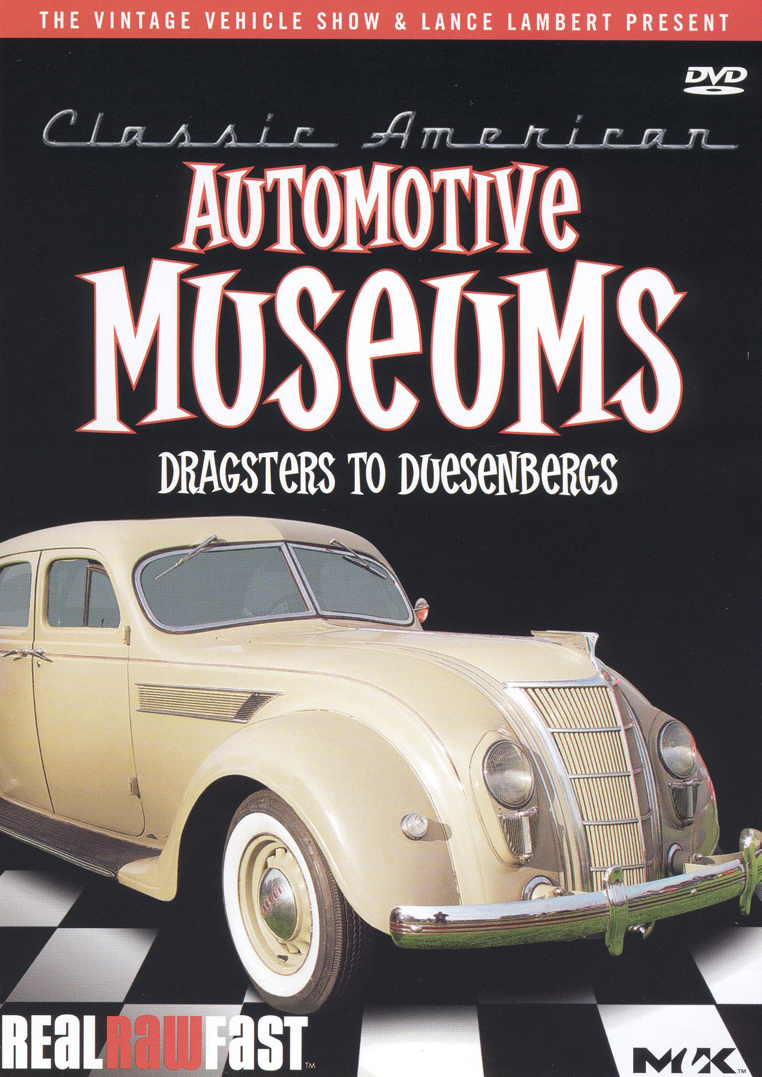 Classic American Automotive Museums: Dragsters to Duesenbergs