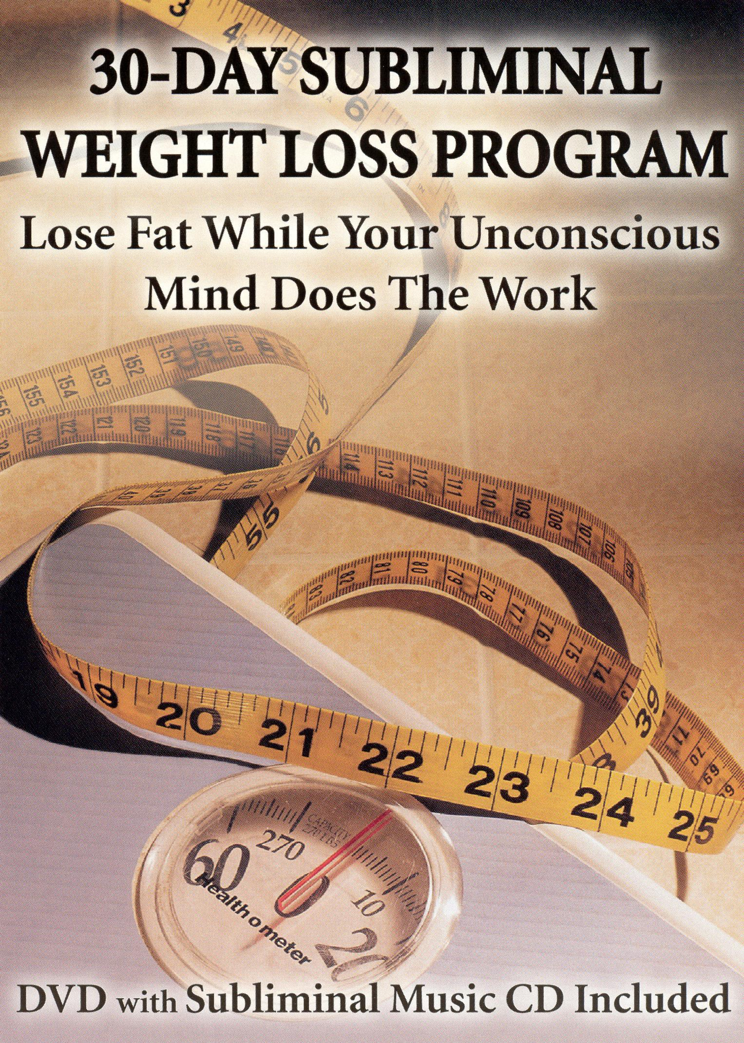 30-Day Subliminal Weight Loss Program