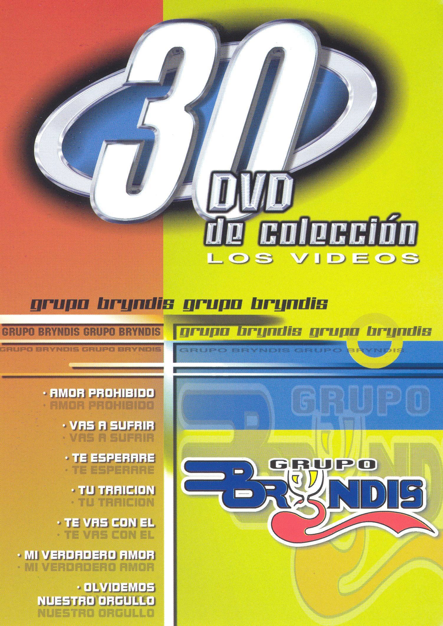 Grupo Byrndis: 30 DVD de colección los videos