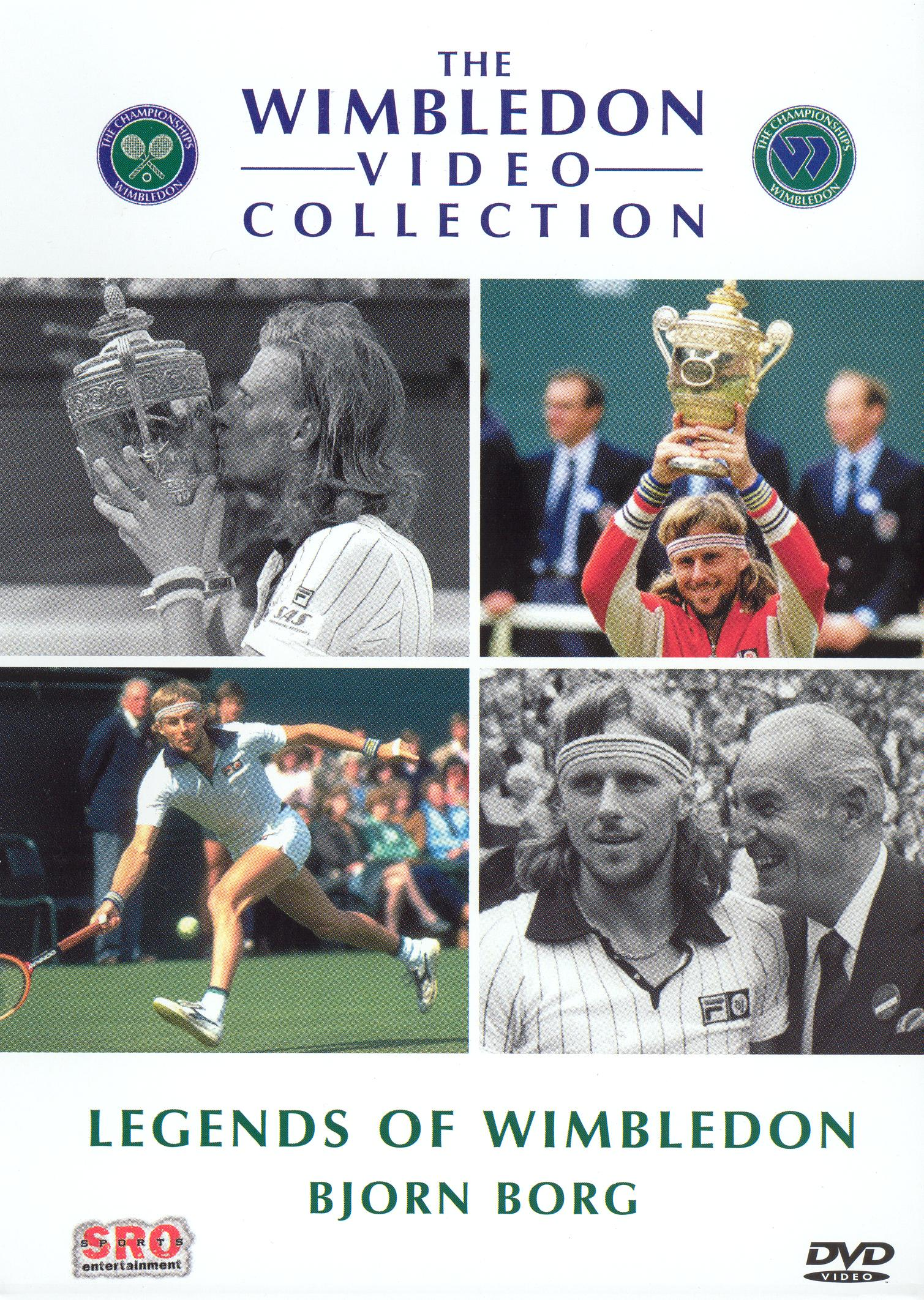 Legends of Wimbledon: Bjorn Borg