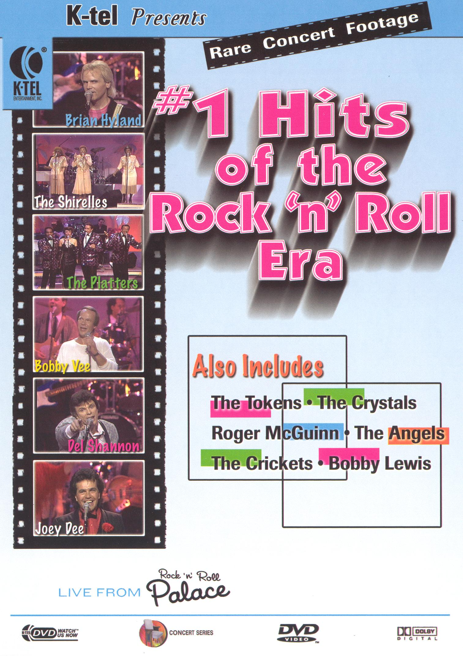 Live from the Rock 'n' Roll Palace: #1 Hits of the Rock 'n' Roll Era