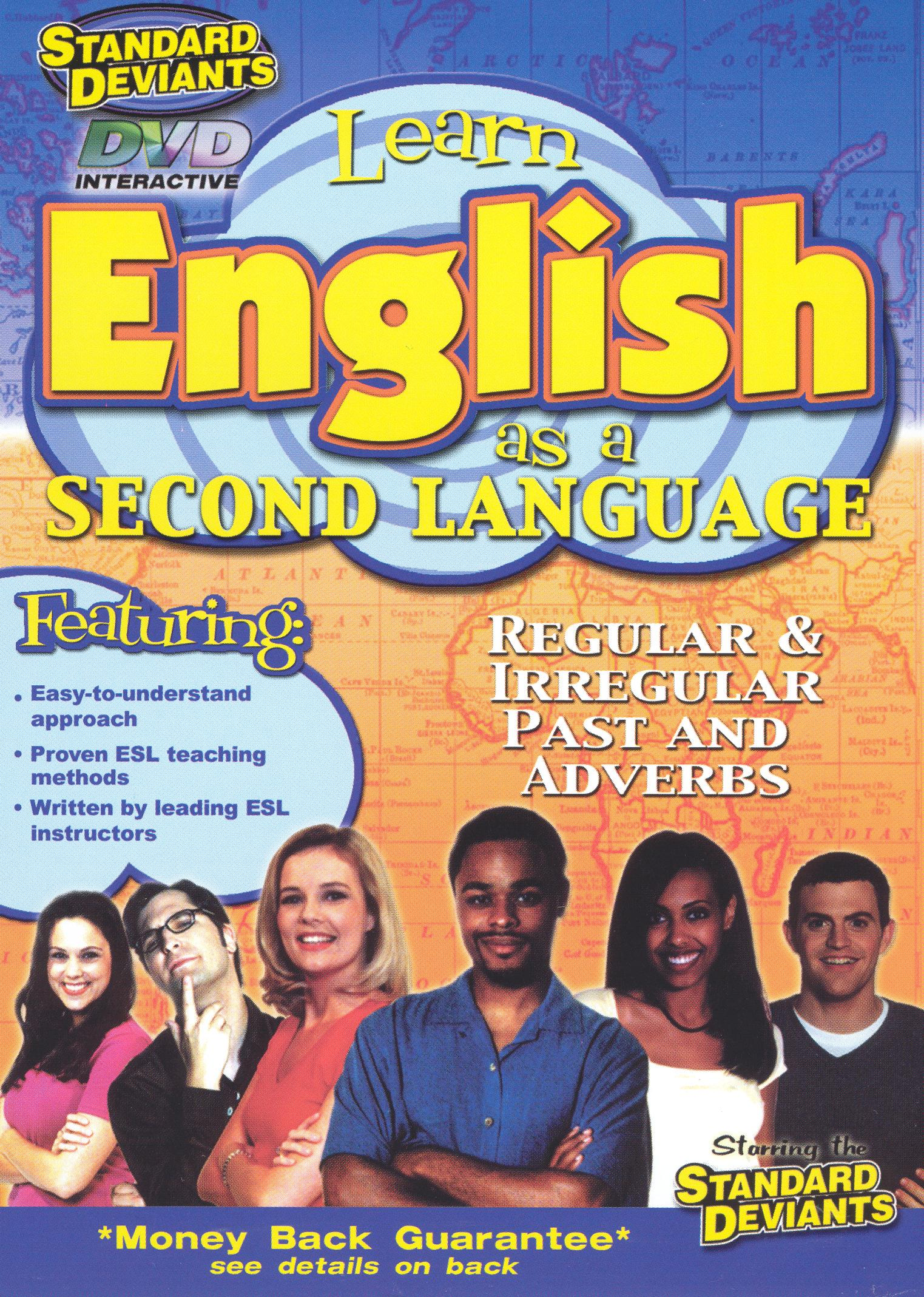 The Standard Deviants: ESL Program, Vol. 4 - Regular and Irregular Past and Adverbs