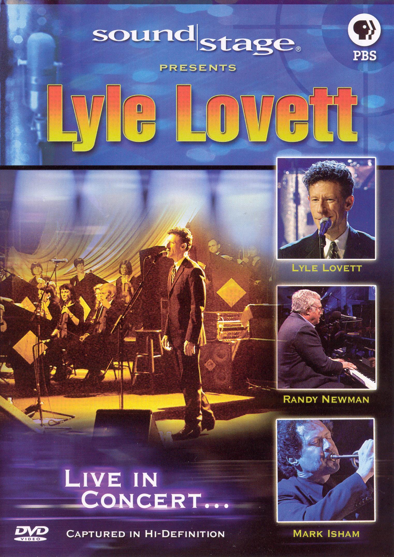 Soundstage: Lyle Lovett with Randy Newman & Mark Isham
