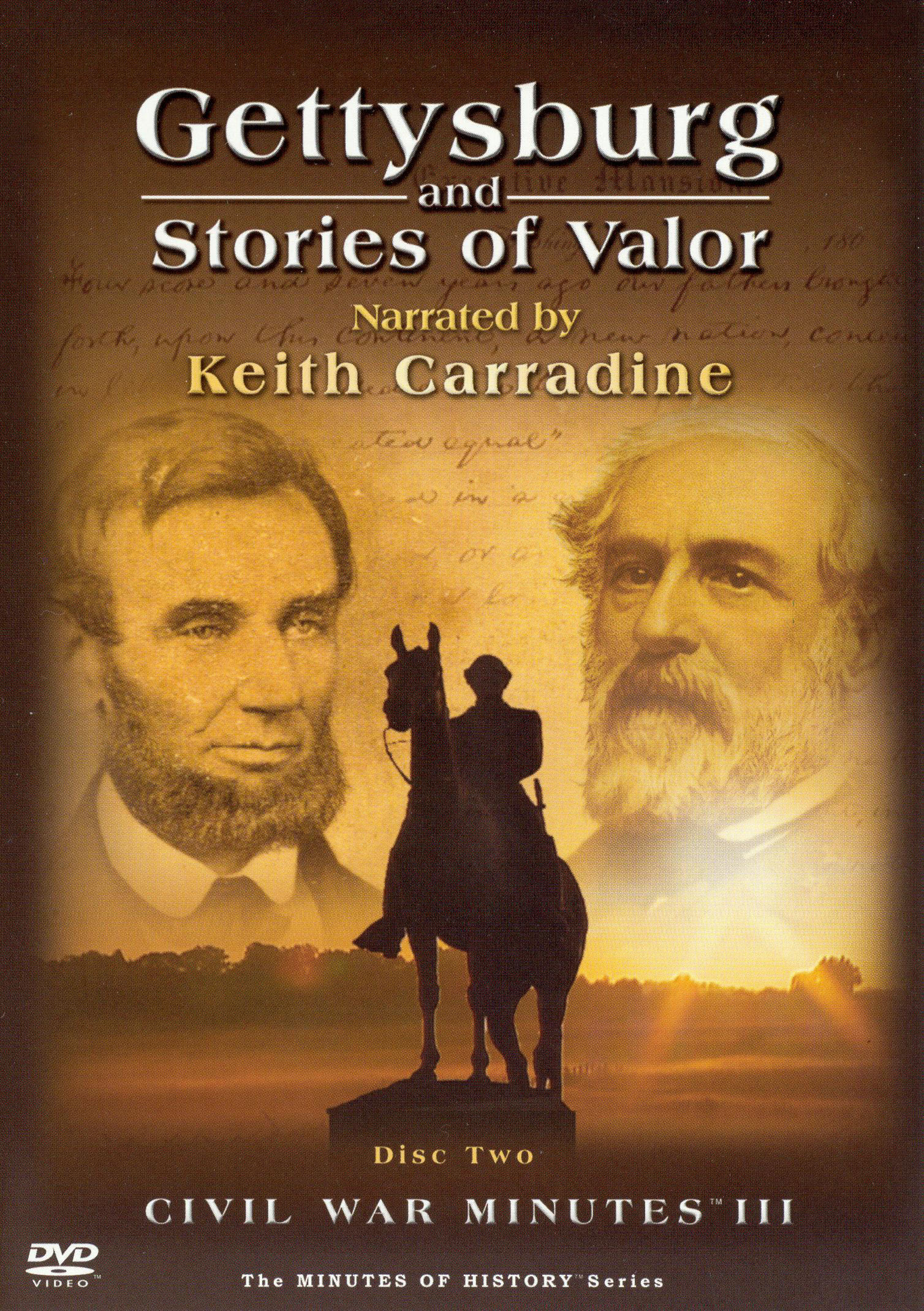 Civil War Minutes III: Gettysburg and Stories of Valor, Vol. 2