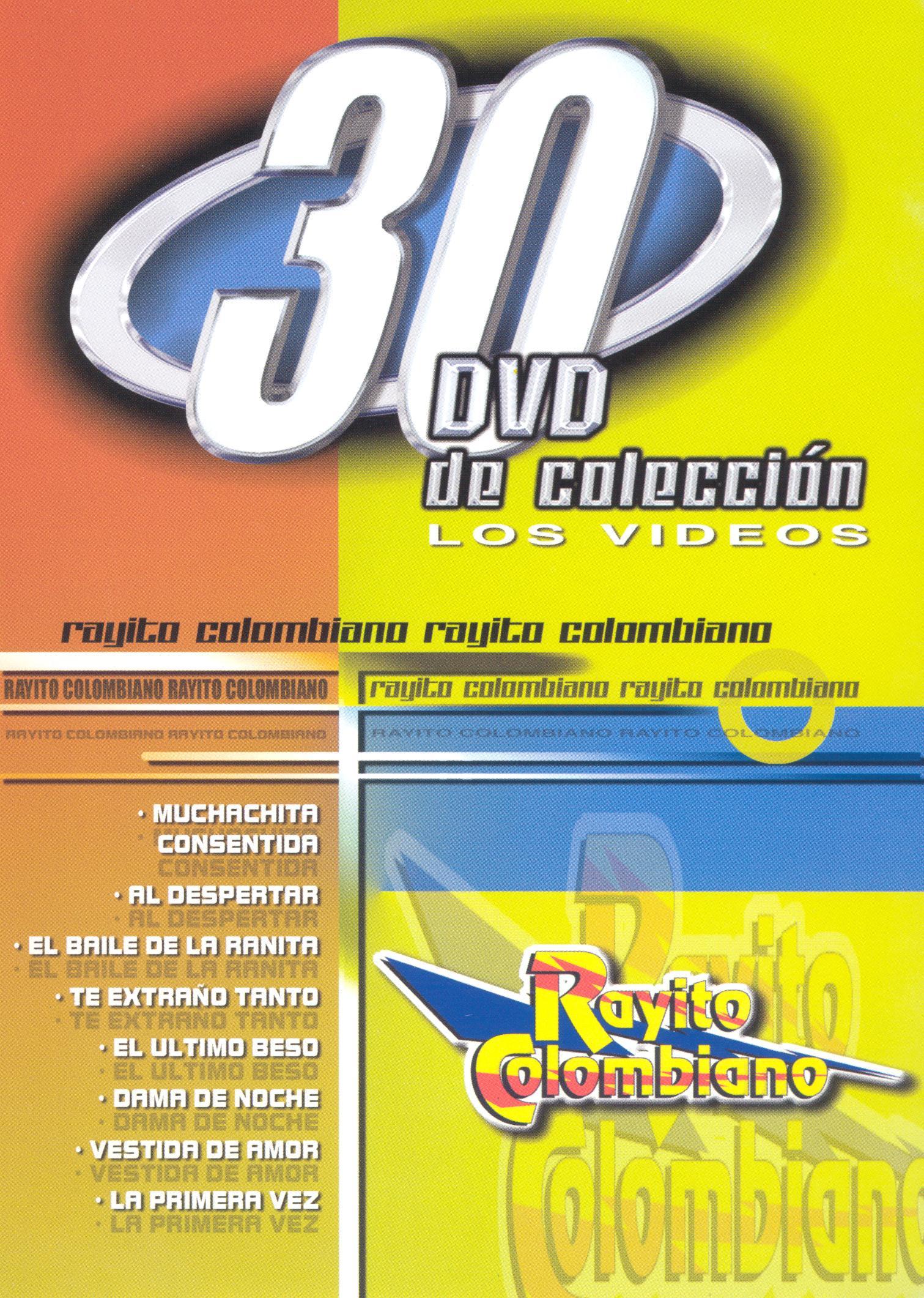 Rayito Colombiano: 30 DVD De Coleccion