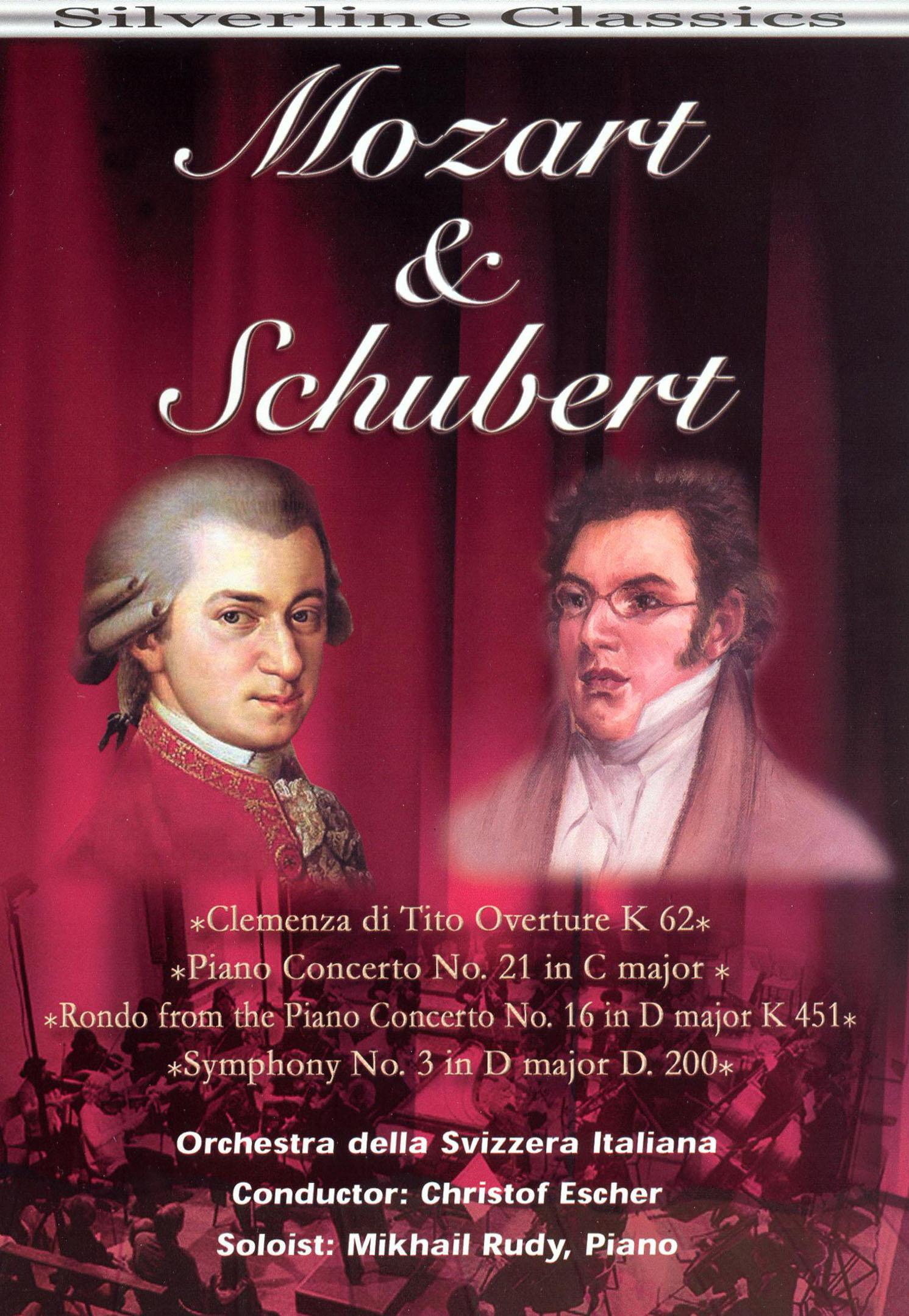 Orchestra della Svizzera Italiana: Mozart & Schubert