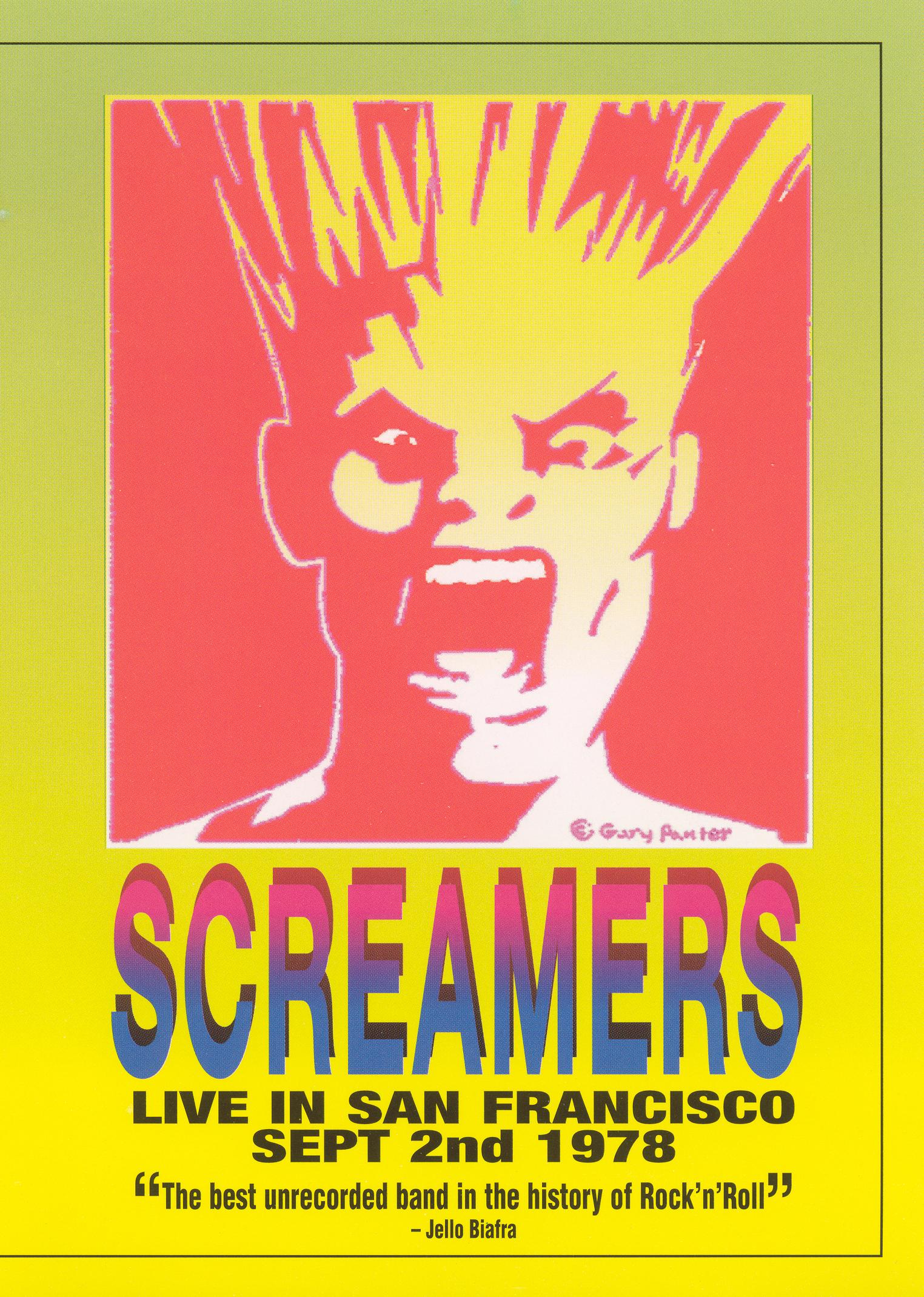 Screamers: Live in San Francisco, 1978