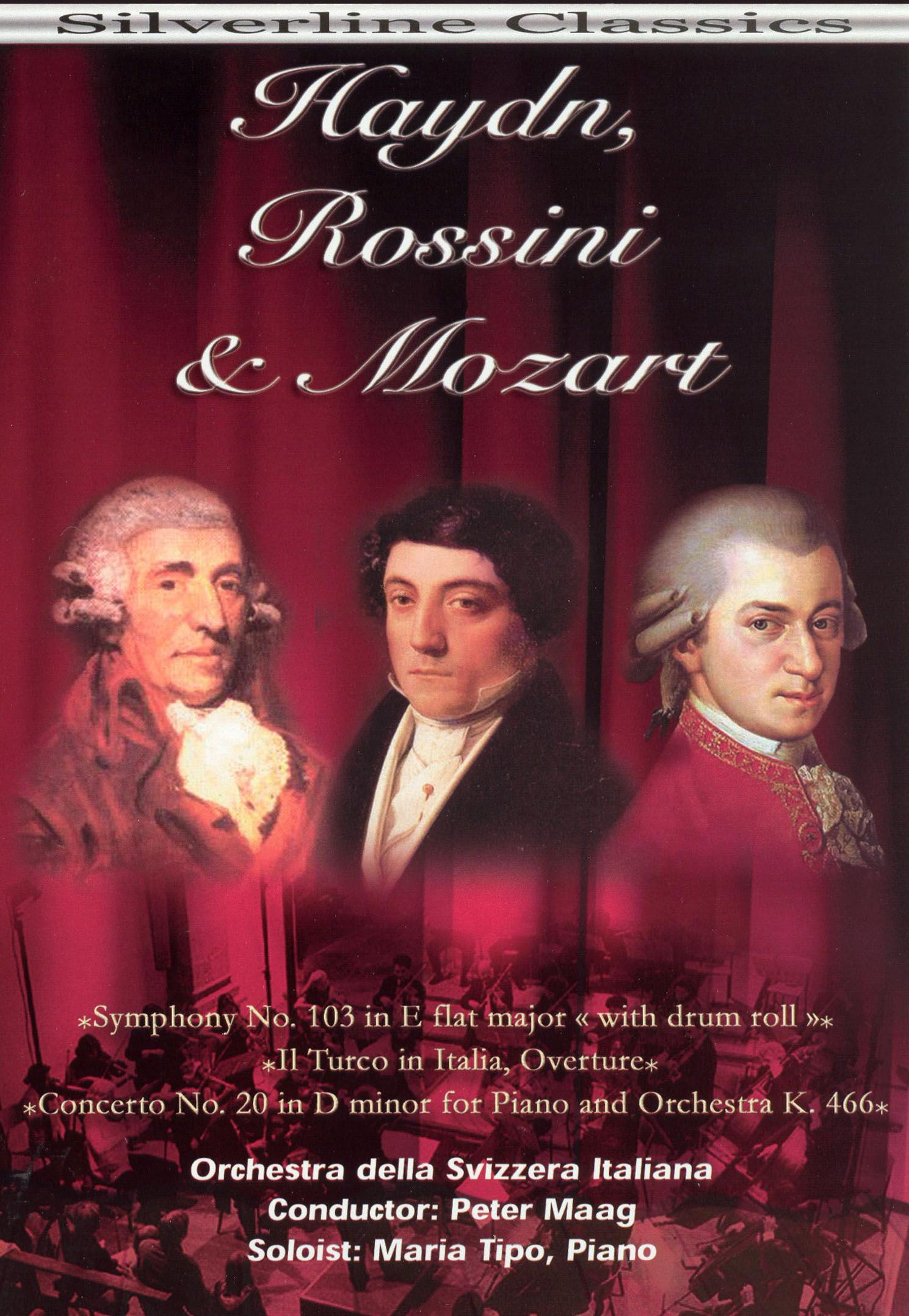 Haydn, Rossini, Mozart