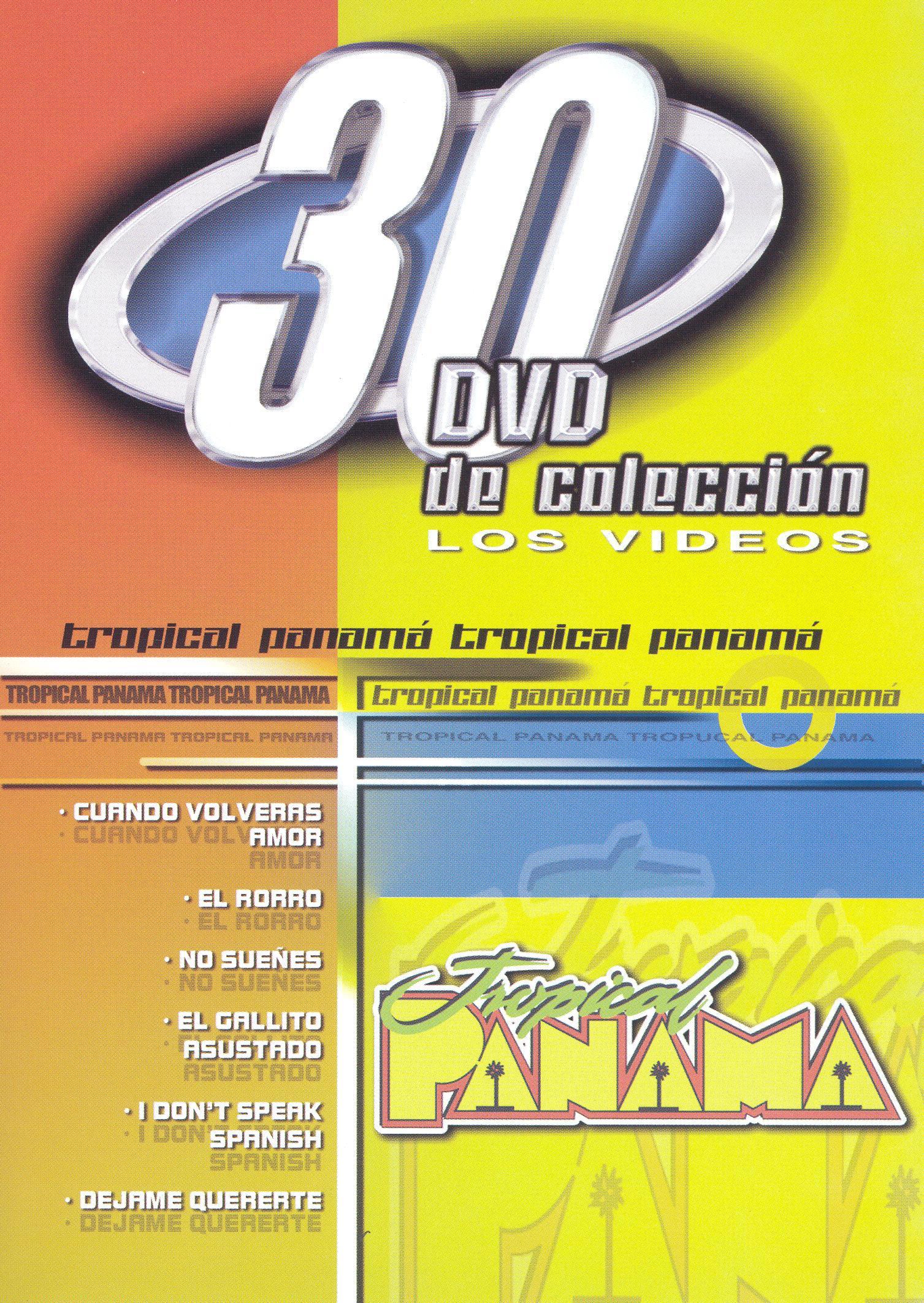 Tropical Panama: 30 DVD de Coleccion