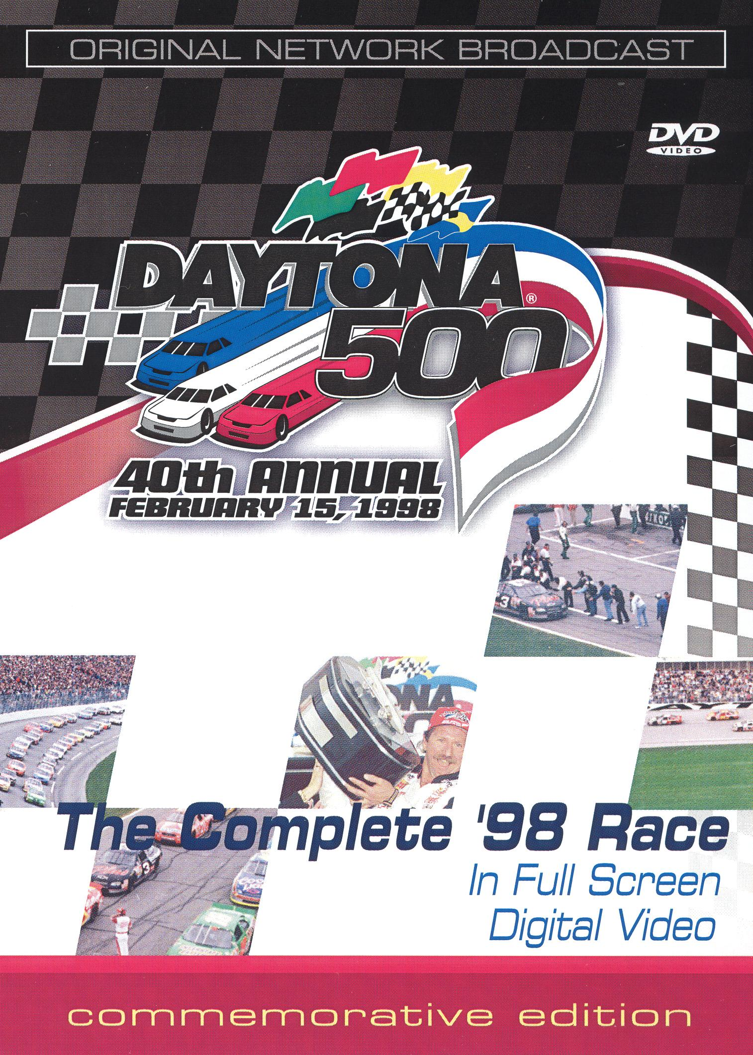 Daytona 500: 40th Annual - The Complete '98 Race