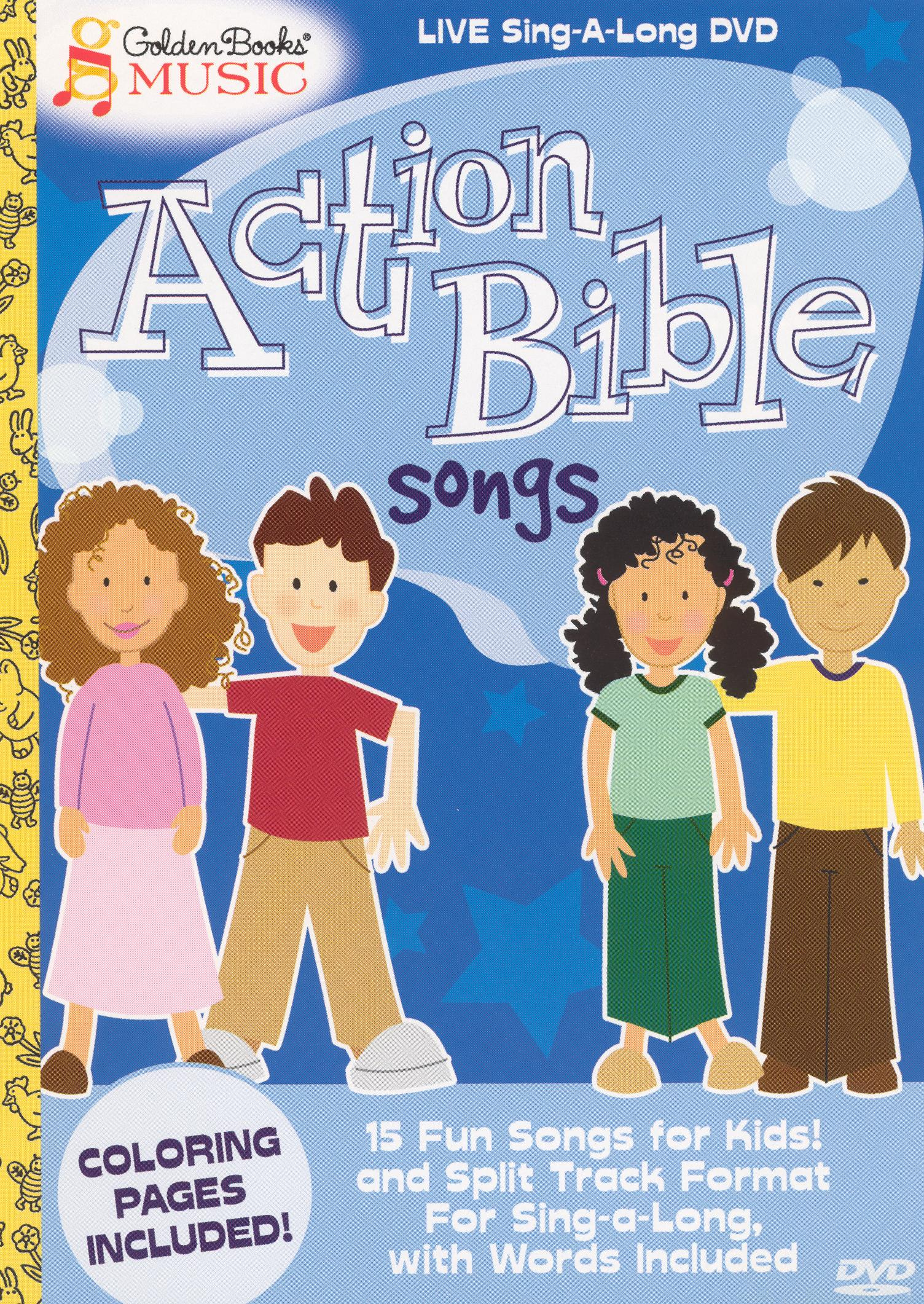 Golden Books Music: Action Bible Songs