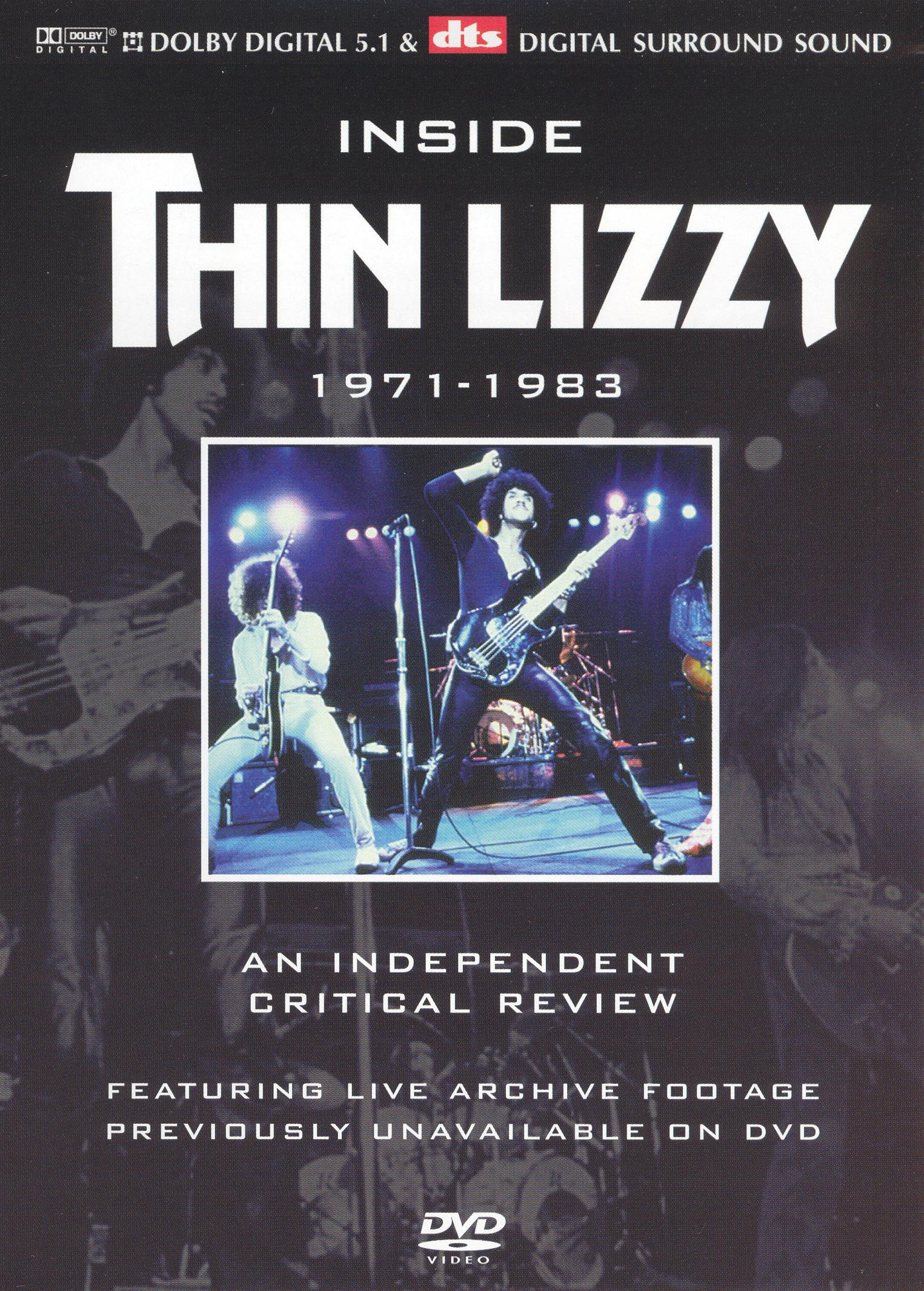 Inside Thin Lizzy: An Independant Critical Review - 1971-1983