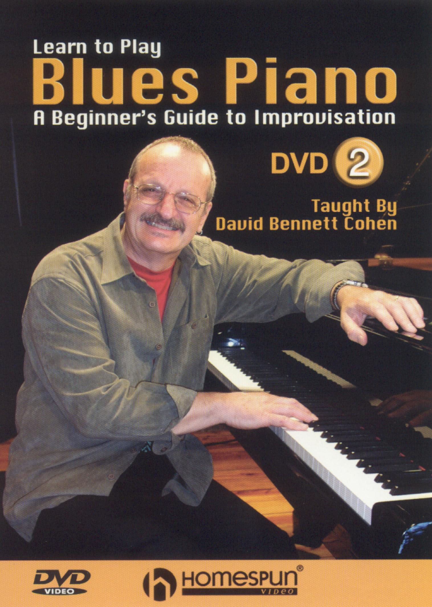 Learn to Play Blues Piano, Vol. 2