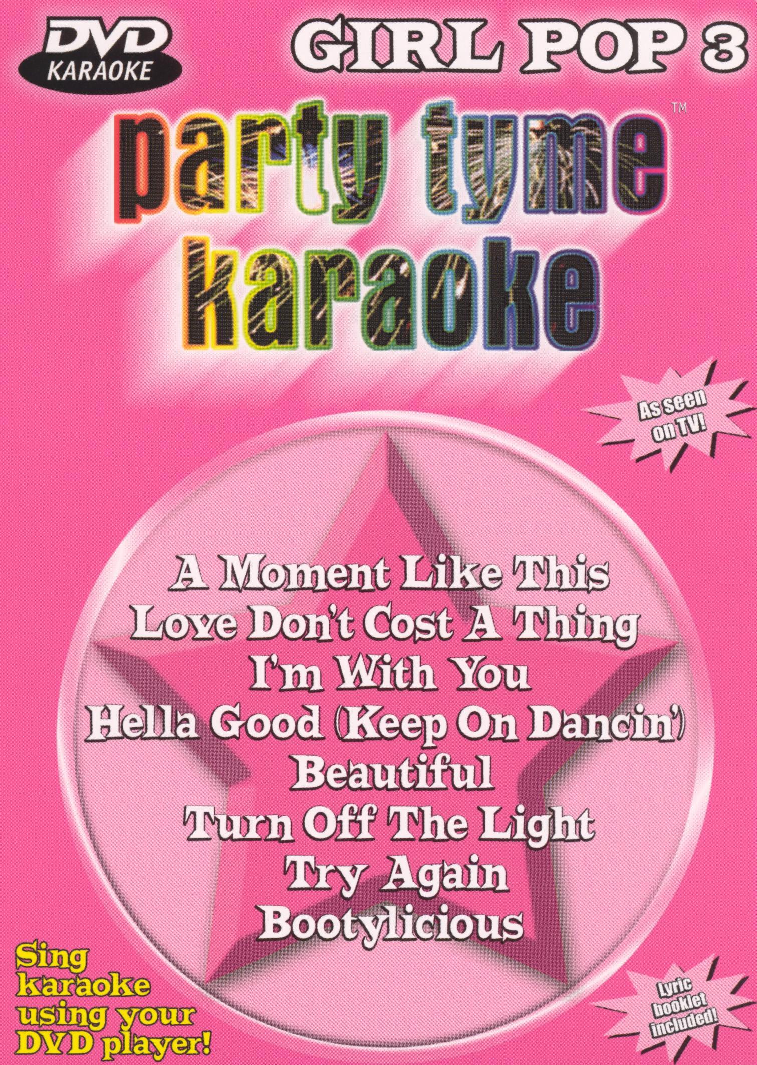 Party Tyme Karaoke: Girl Pop, Vol. 3