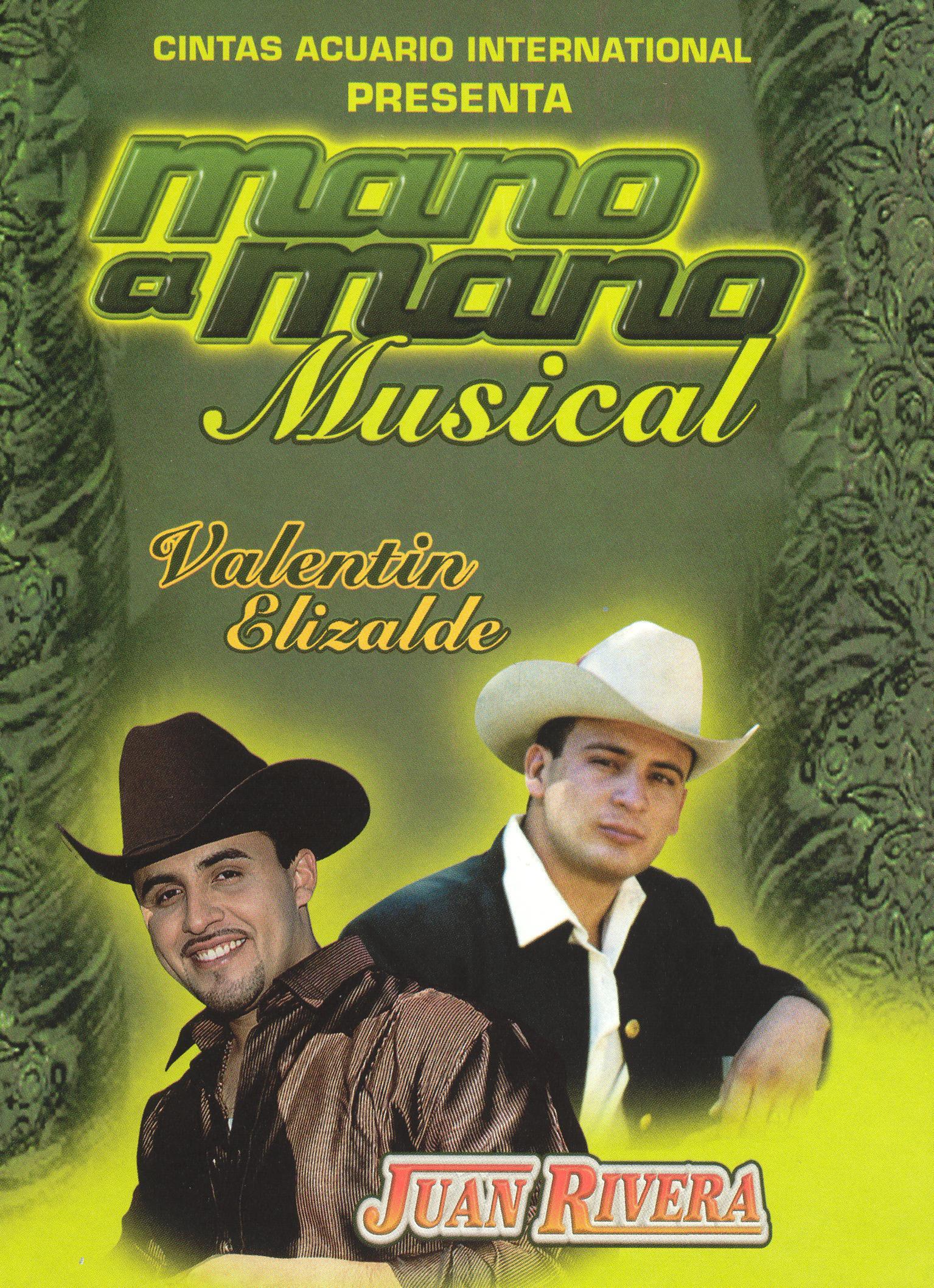 Mano a Mano Musical: Valentin Elizalde