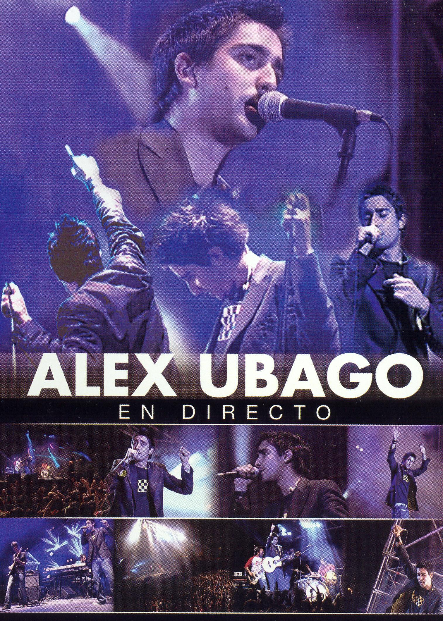 Alex Ubago: En Directo