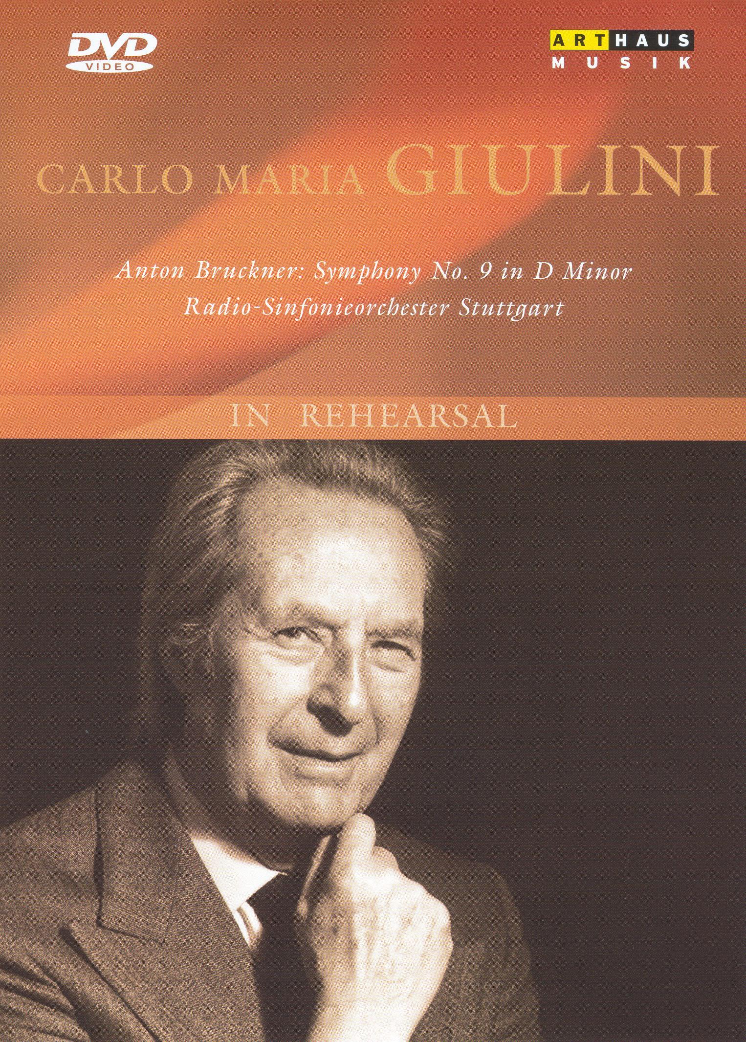 Carlo Maria Giulini: In Rehearsal
