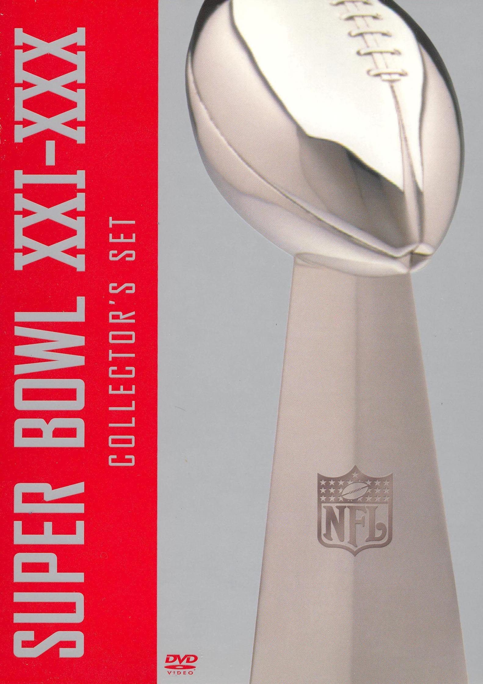 NFL Films: Super Bowl XXI-XXX