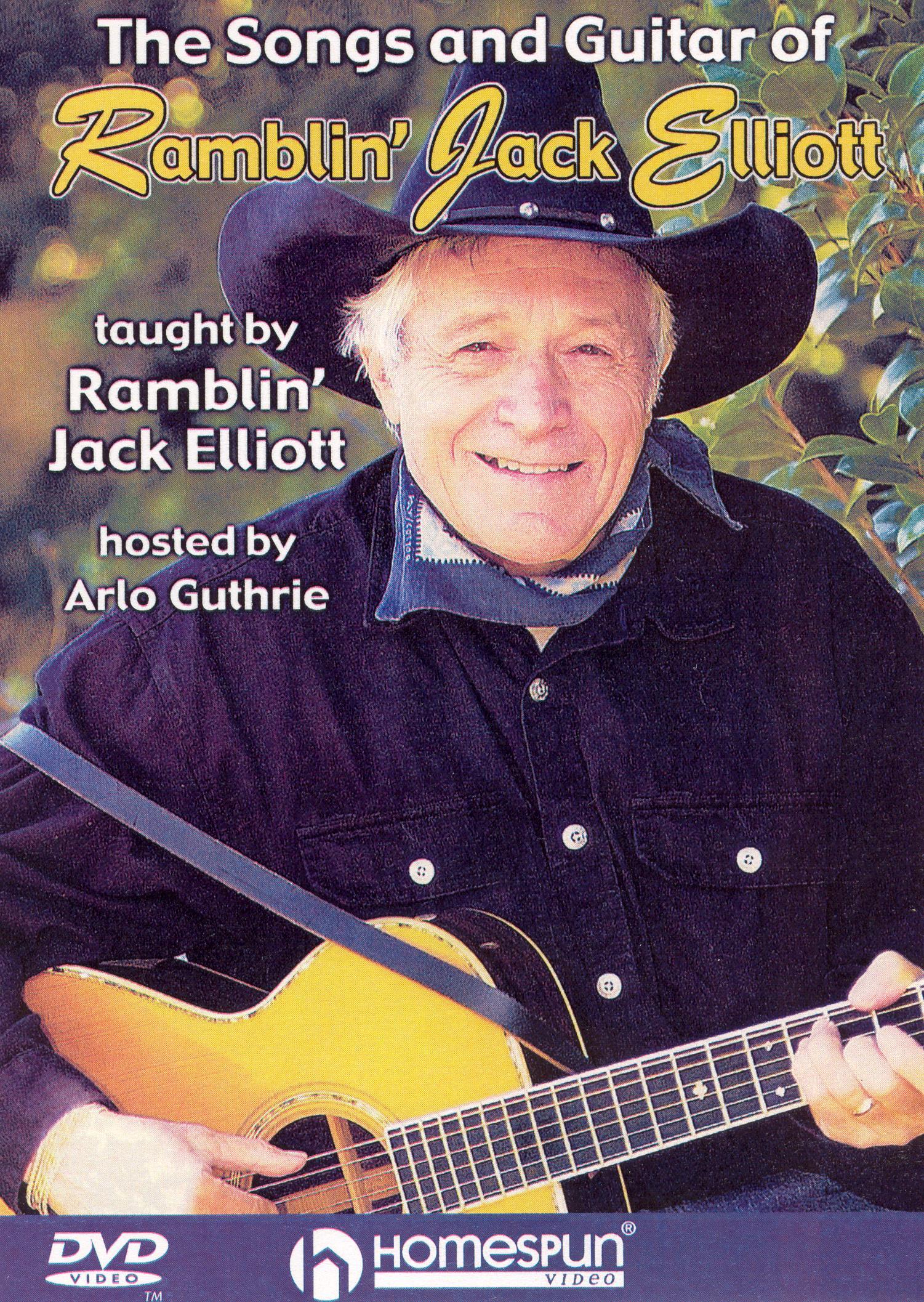 Songs and Guitar of Ramblin Jack Elliott