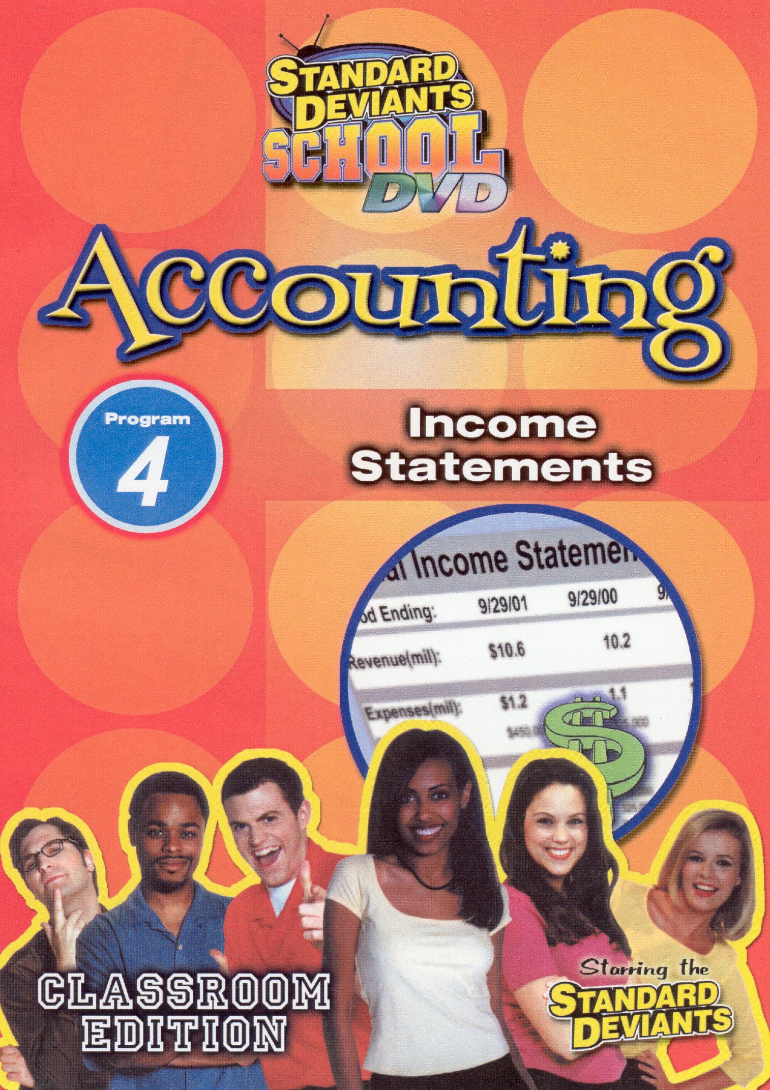 Standard Deviants School: Accounting, Program 4