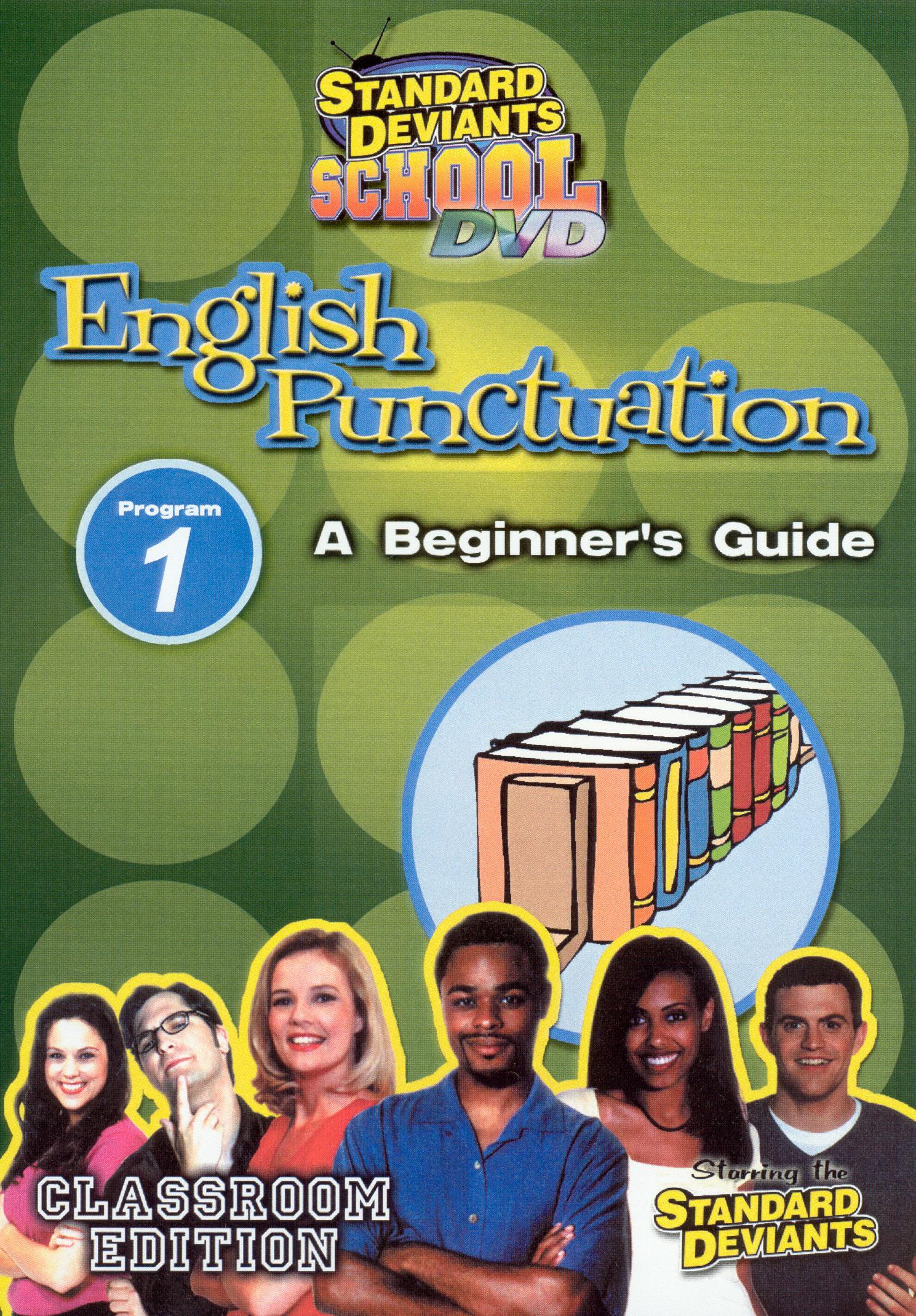 Standard Deviants School: English Puncuation, Program 1