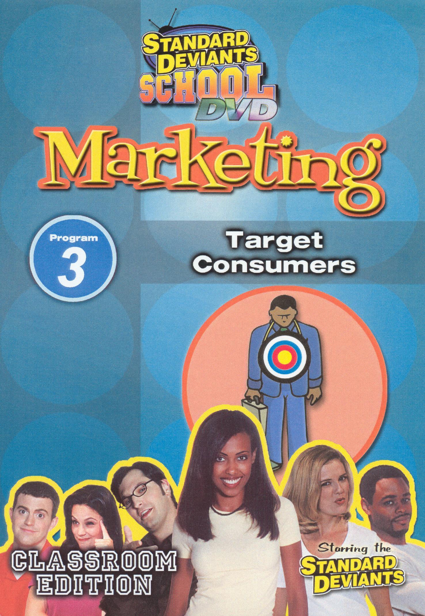 Standard Deviants School: Marketing, Program 3 - Target Consumers