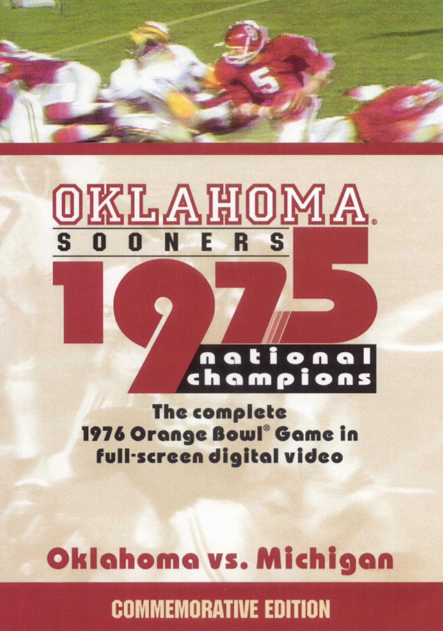Oklahoma Sooners: 1975 National Champions