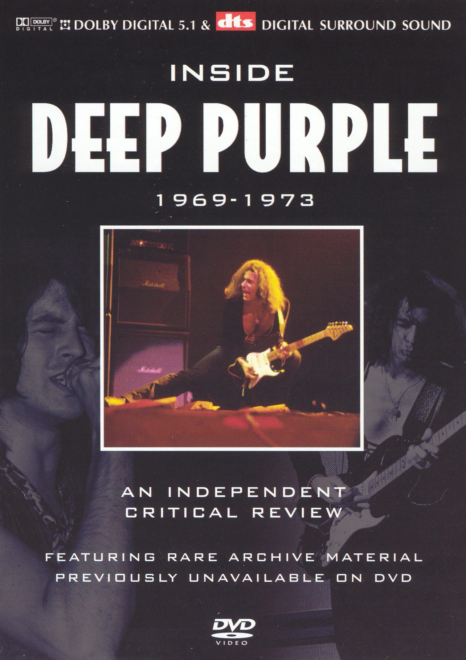 Inside Deep Purple: A Critical Review 1969-1973