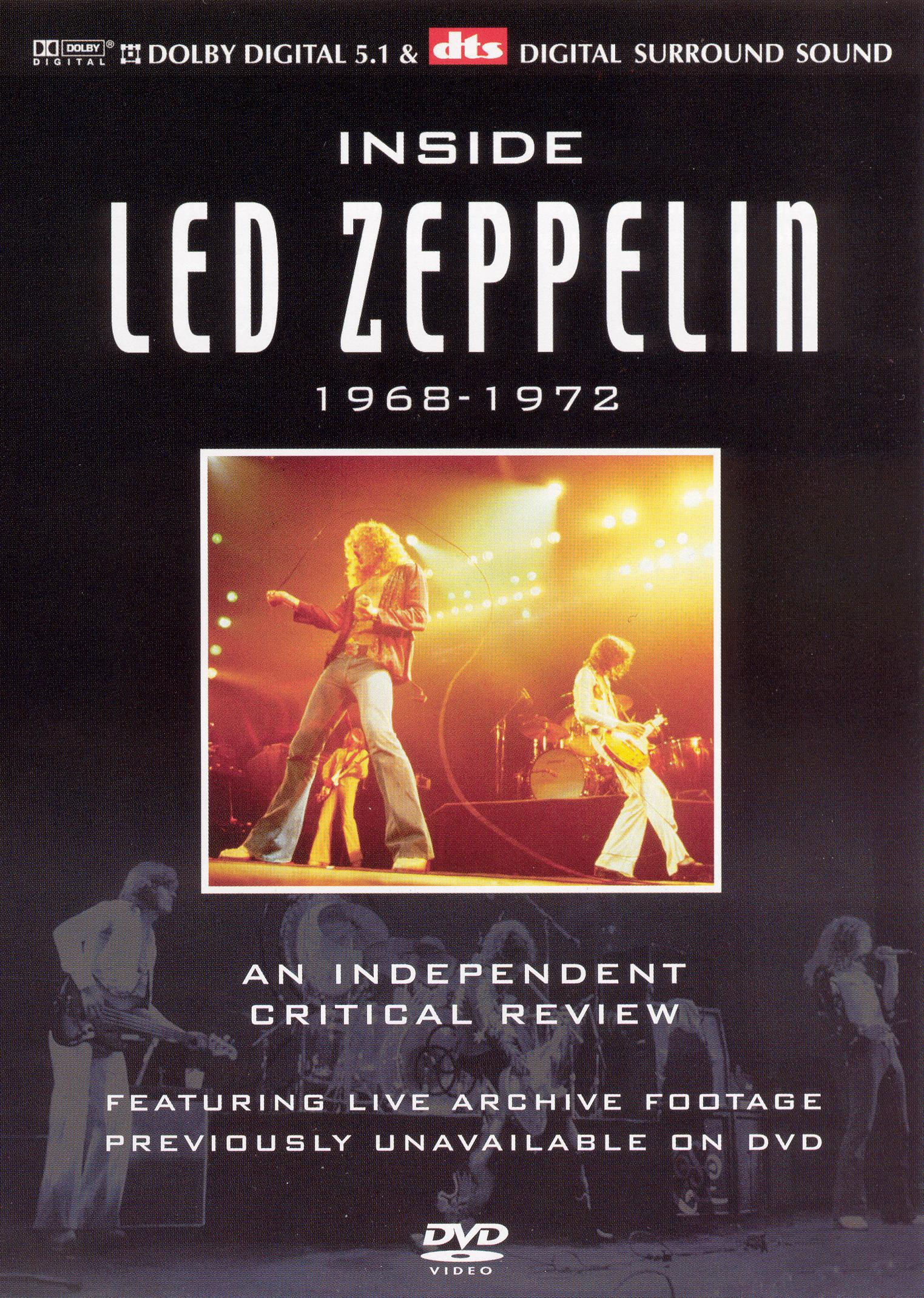 Inside Led Zeppelin: A Critical Review - 1968-1972