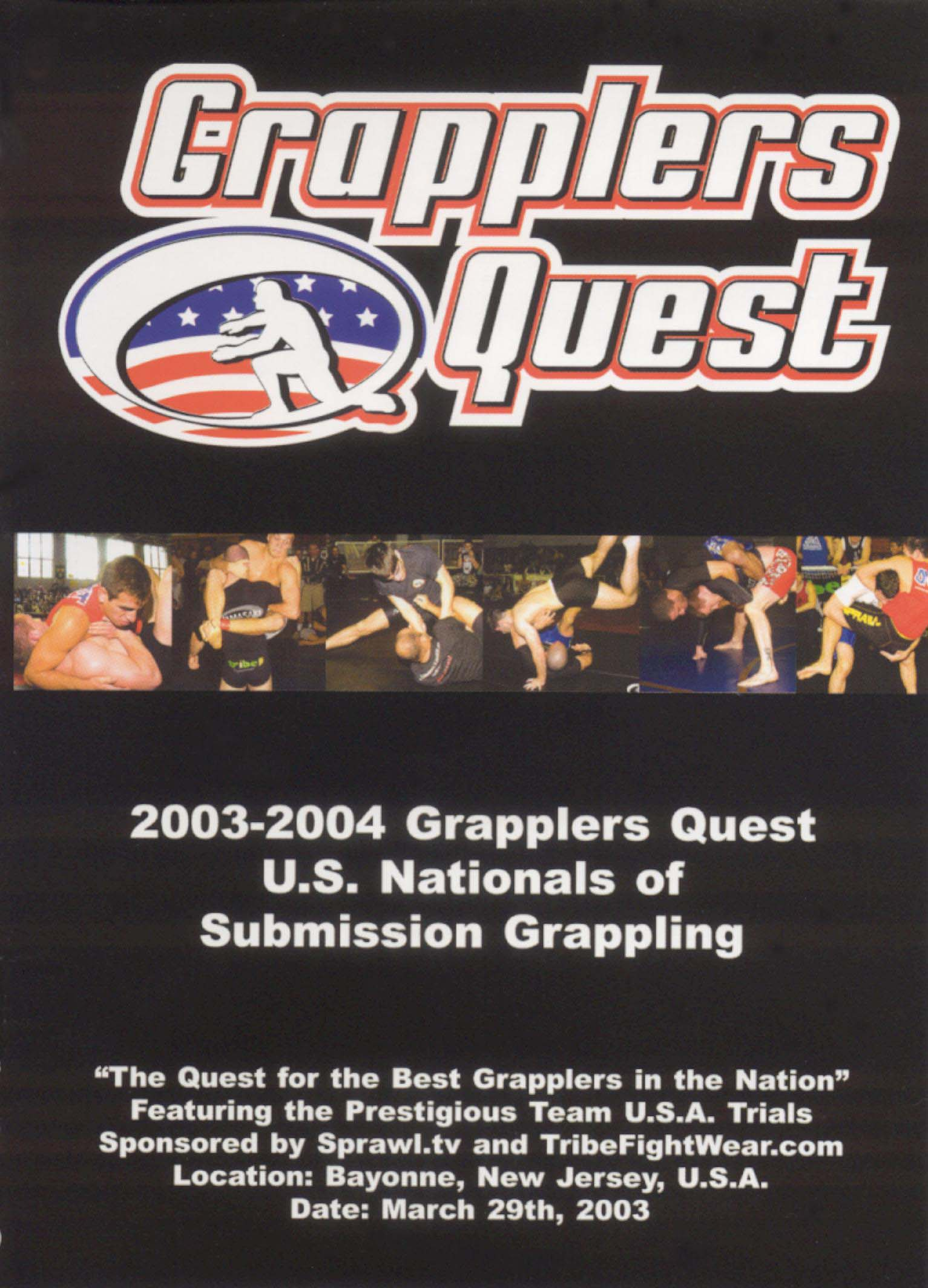 Grapplers Quest: 2003-2004 U.S. Nationals of Submission Grappling