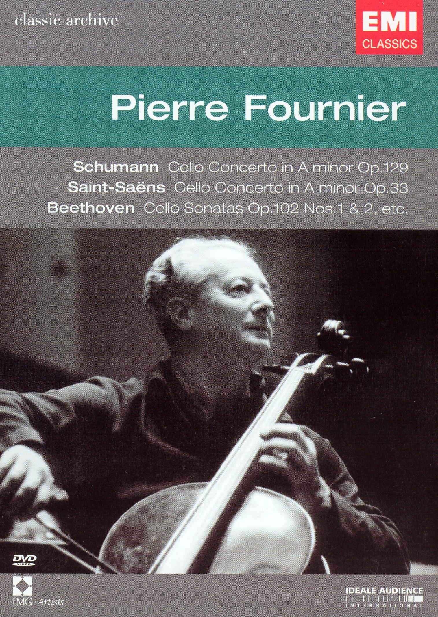 Classic Archive: Schumann/Saint-Saens/Beethoven/Fournier