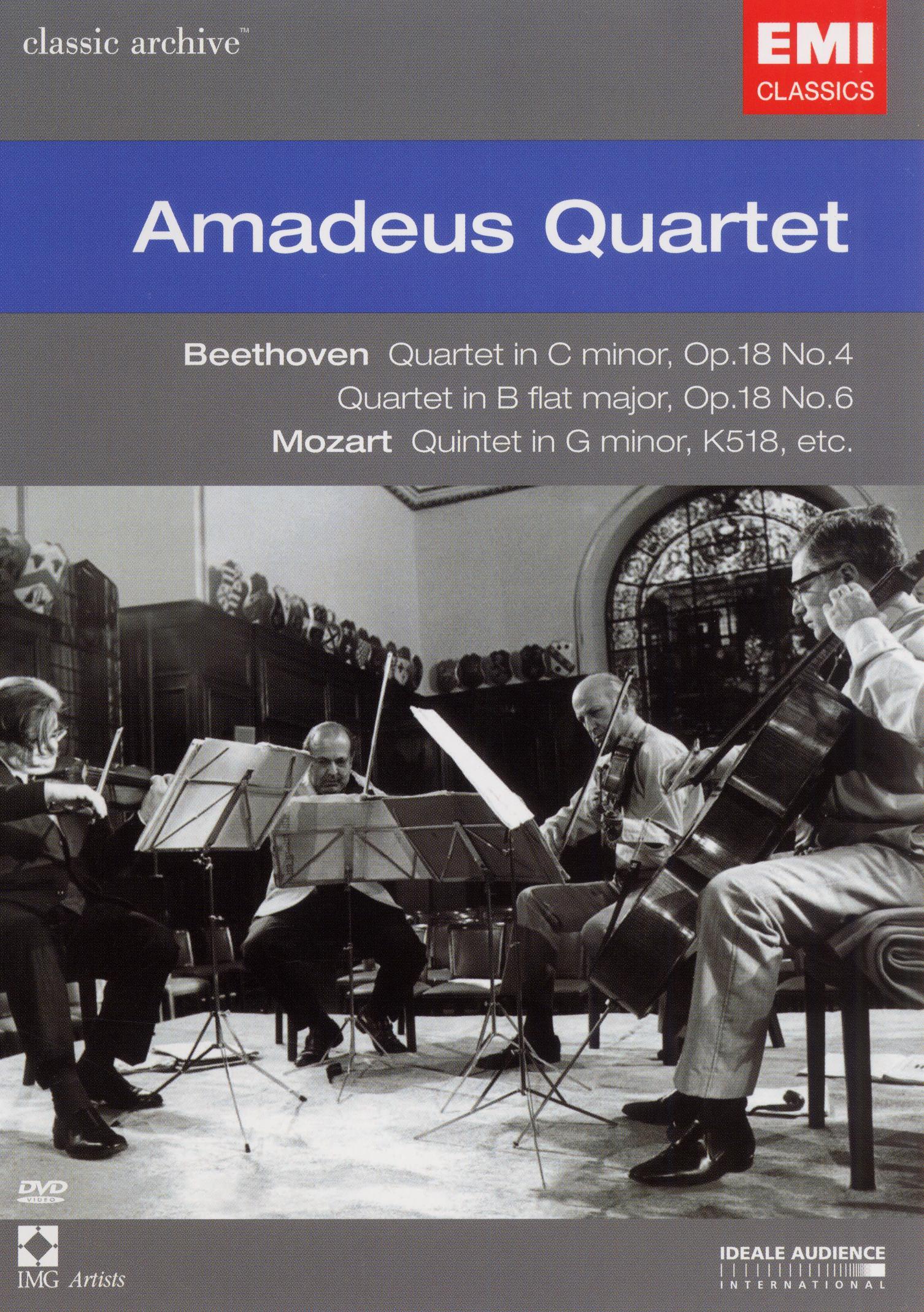 Classic Archive: Mozart/Beethoven/Brahms/Amadeus Quartet