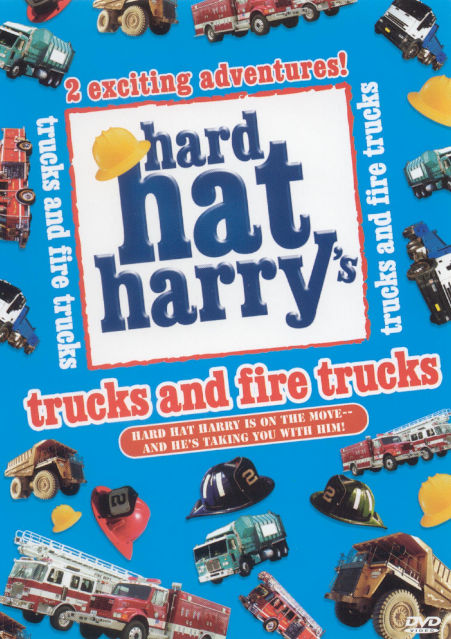 Hard Hat Harry: Trucks and Fire Trucks