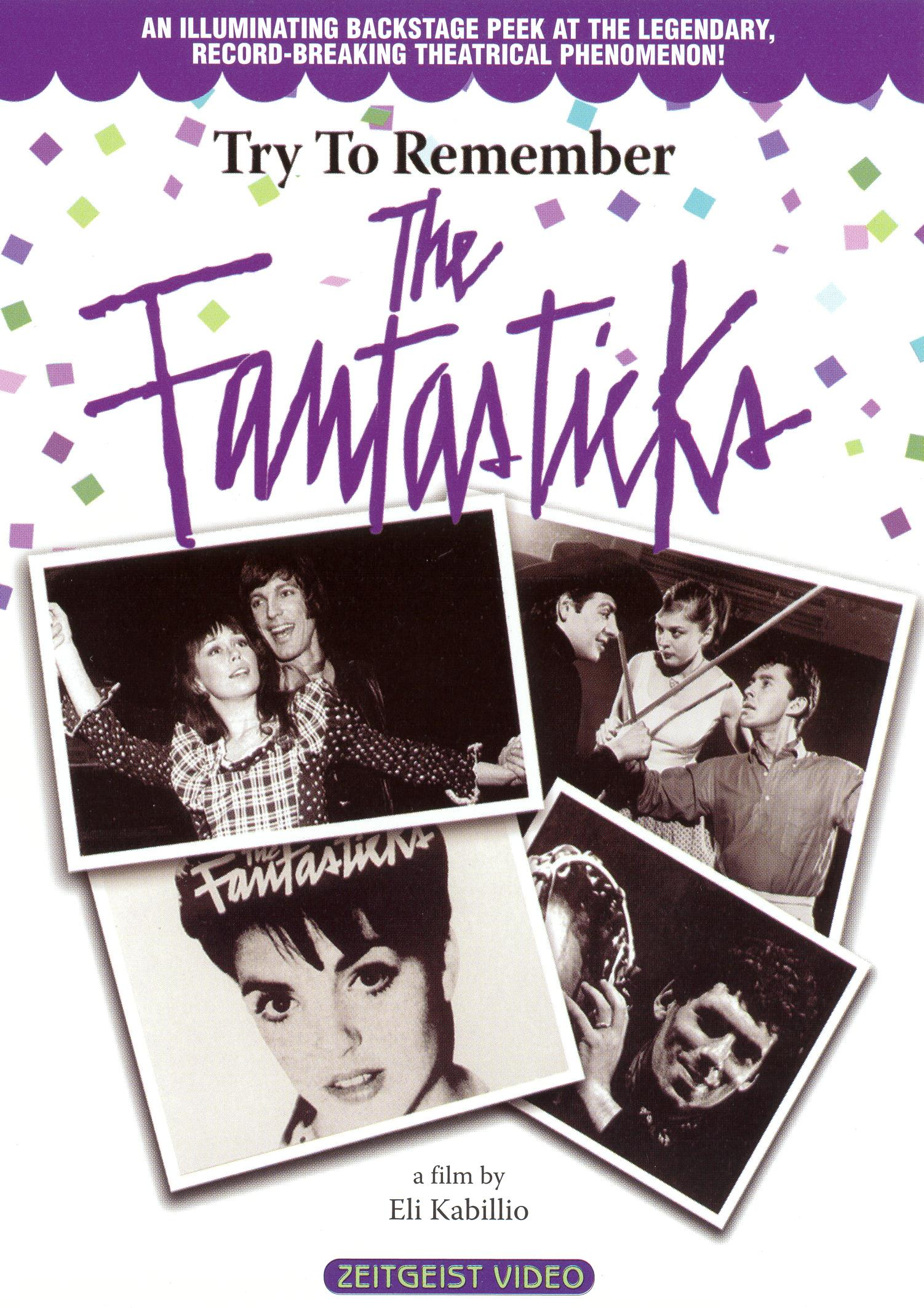 Try To Remember: The Fantasticks