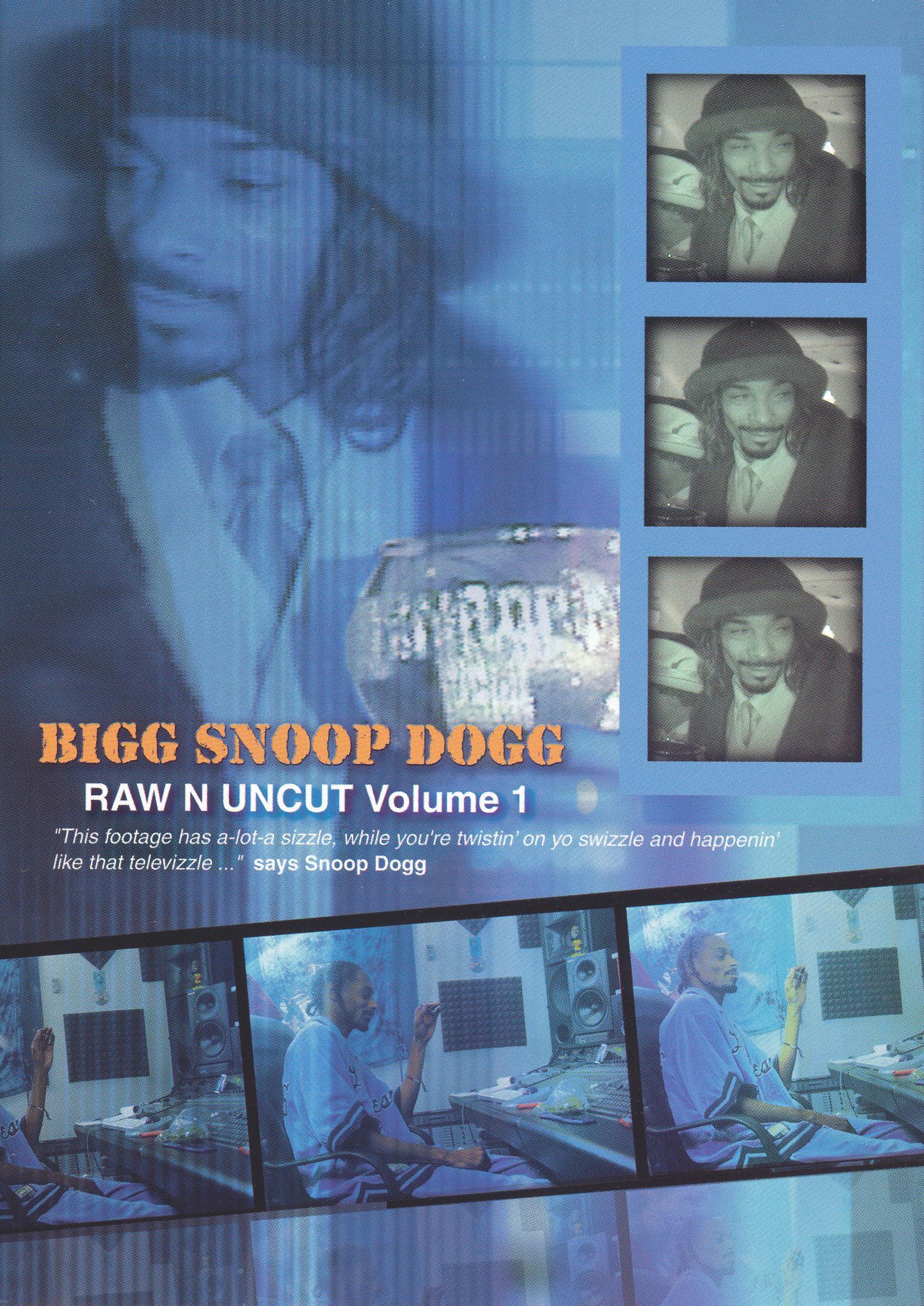 Snoop Dogg: Raw N Uncut